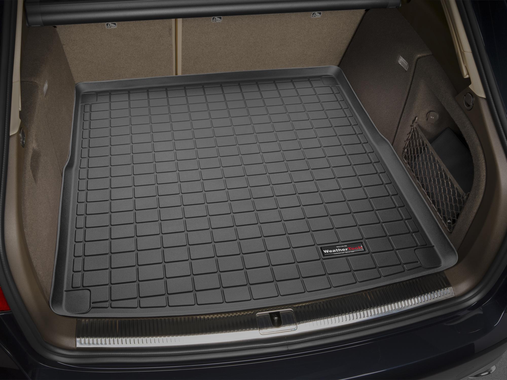Audi A4 S4 RS4 2015>2015 Vasca proteggi baule tappeto bagagliaio nero *53