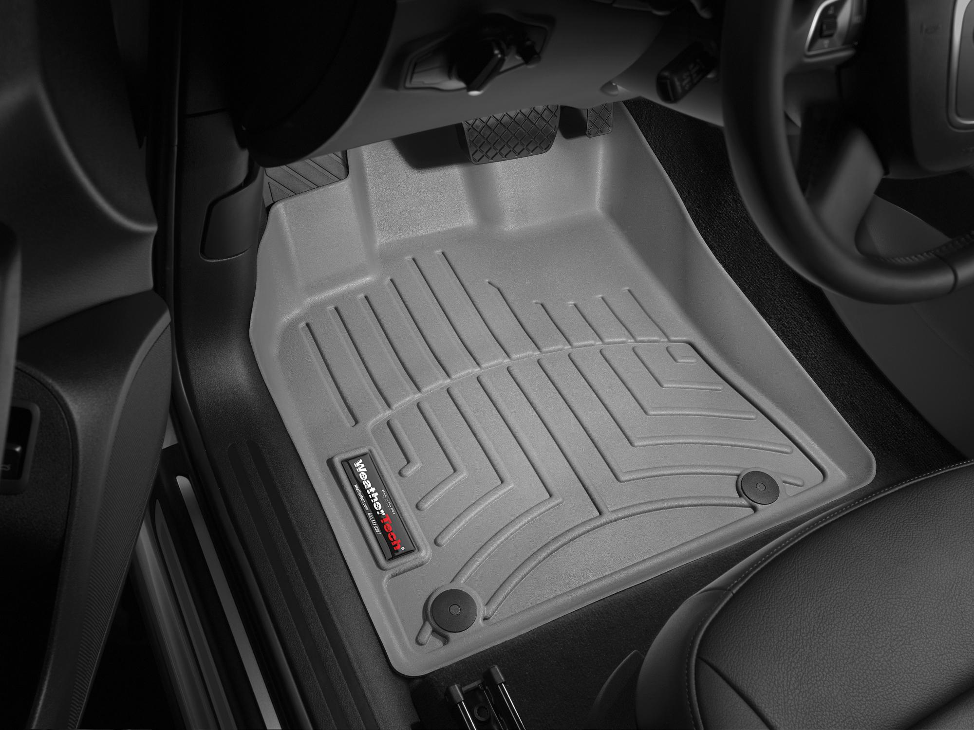 Tappeti gomma su misura bordo alto Porsche® Macan 14>17 Grigio A3163
