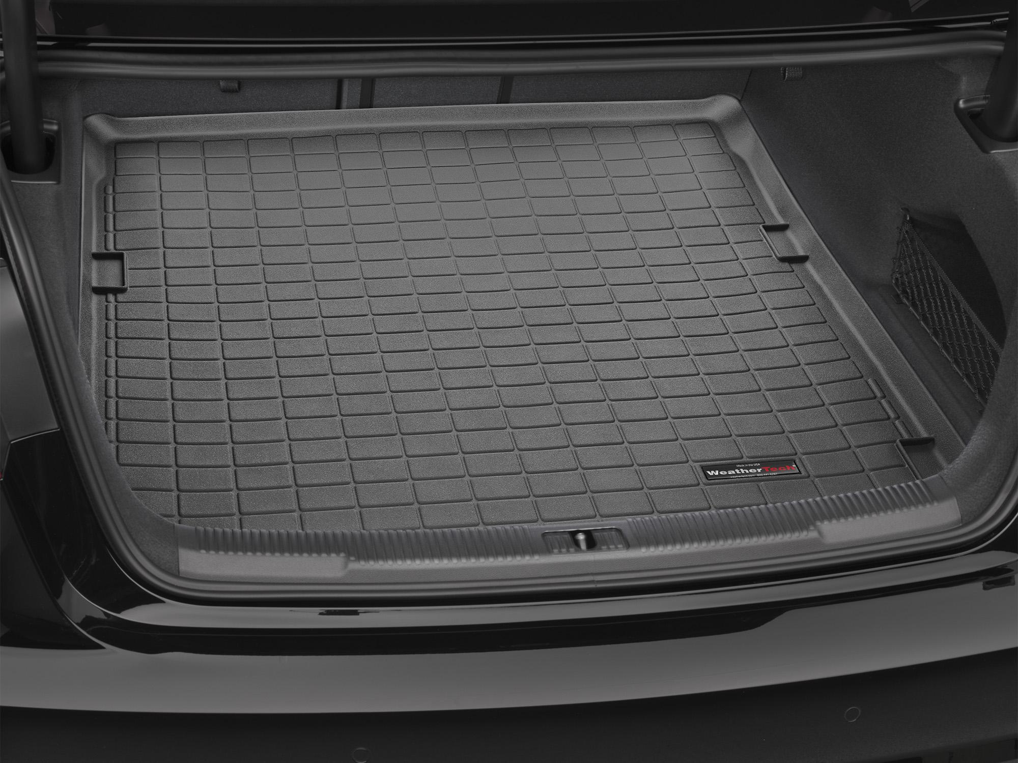 Audi A6 S6 2011>2011 Vasca proteggi baule tappeto bagagliaio nero *74