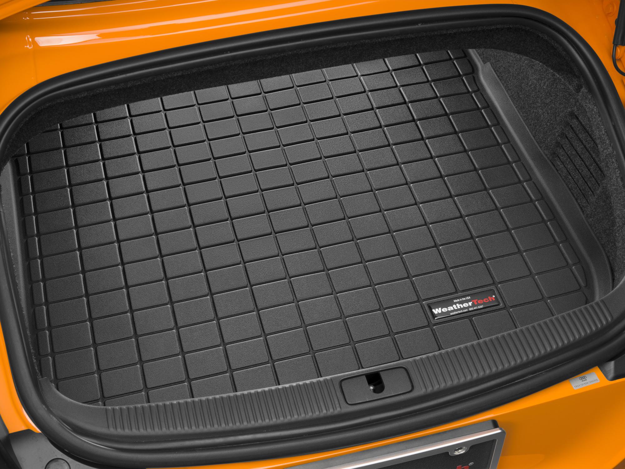 Audi TT 2006>2006 Vasca proteggi baule tappeto bagagliaio nero *144