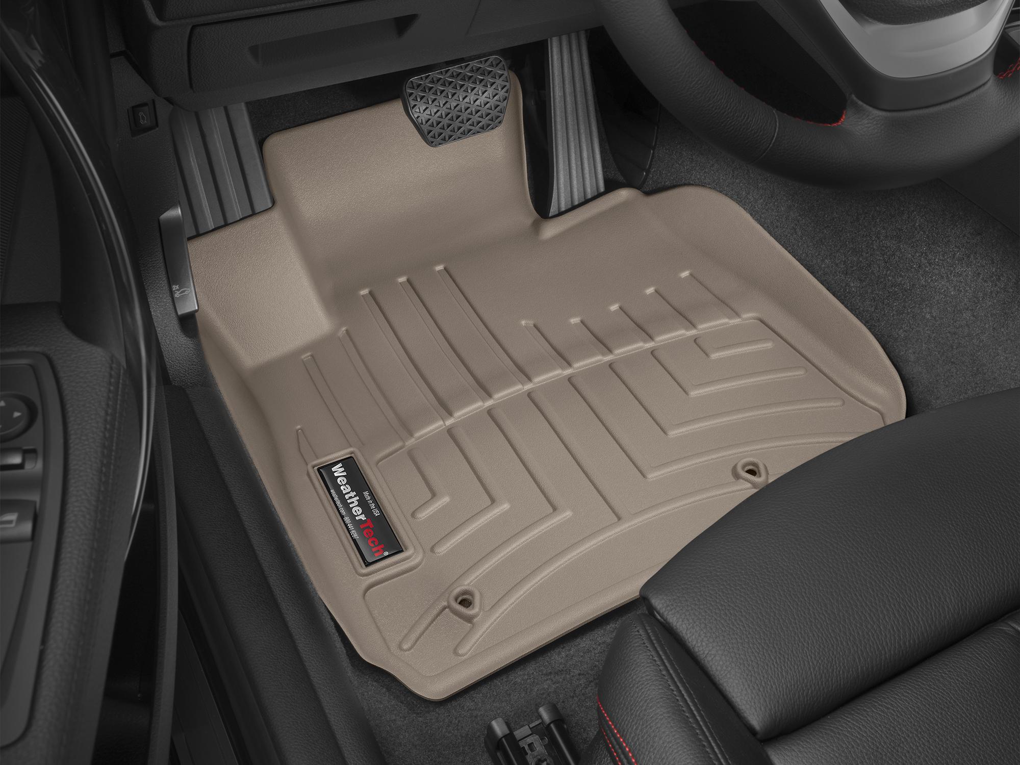 BMW Serie 2 (F22/F23) 14>17 Tappeti gomma su misura bordo alto marrone