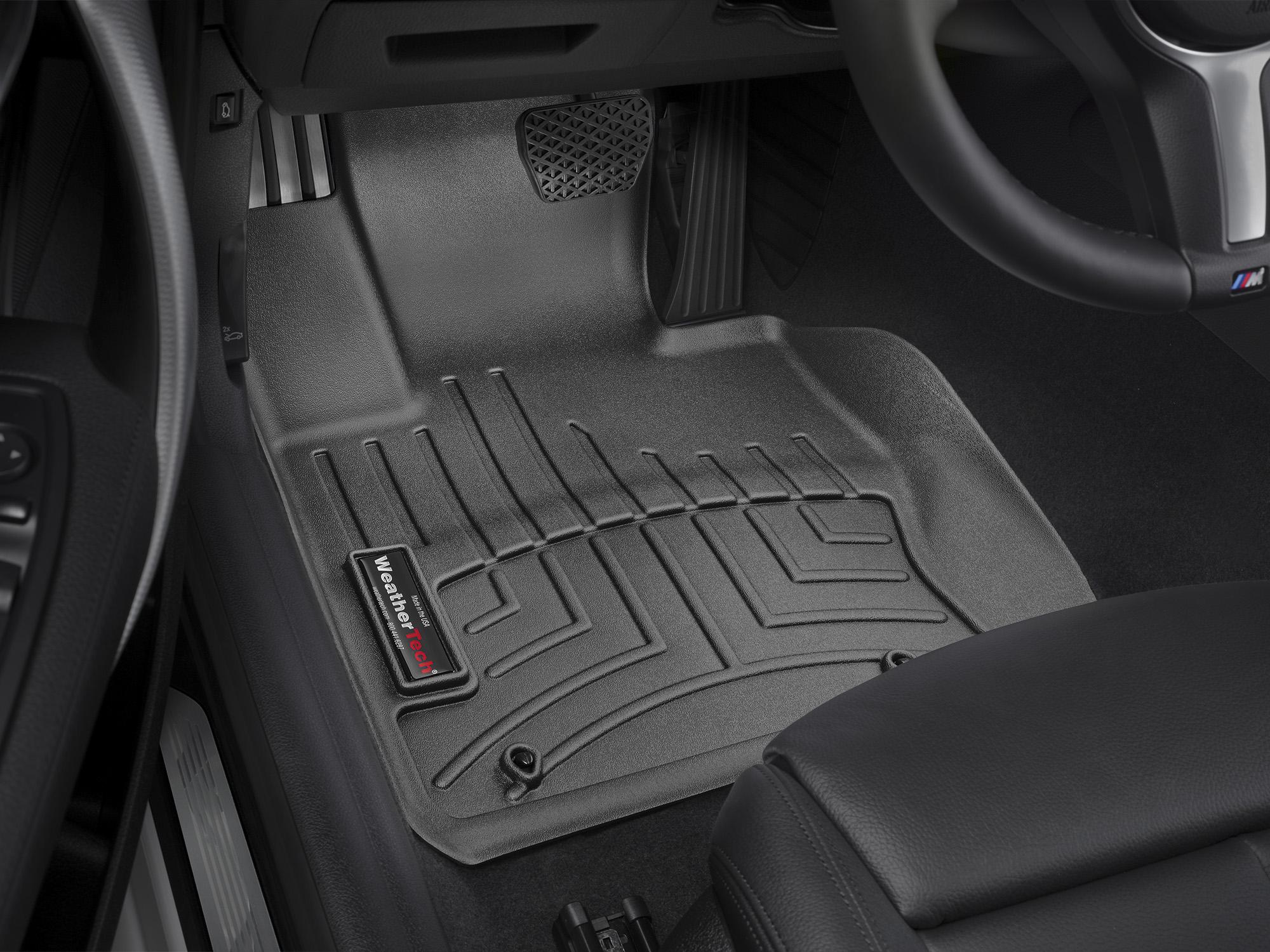 BMW Serie 2 (F22/F23) 14>17 Tappeti gomma su misura bordo alto nero*