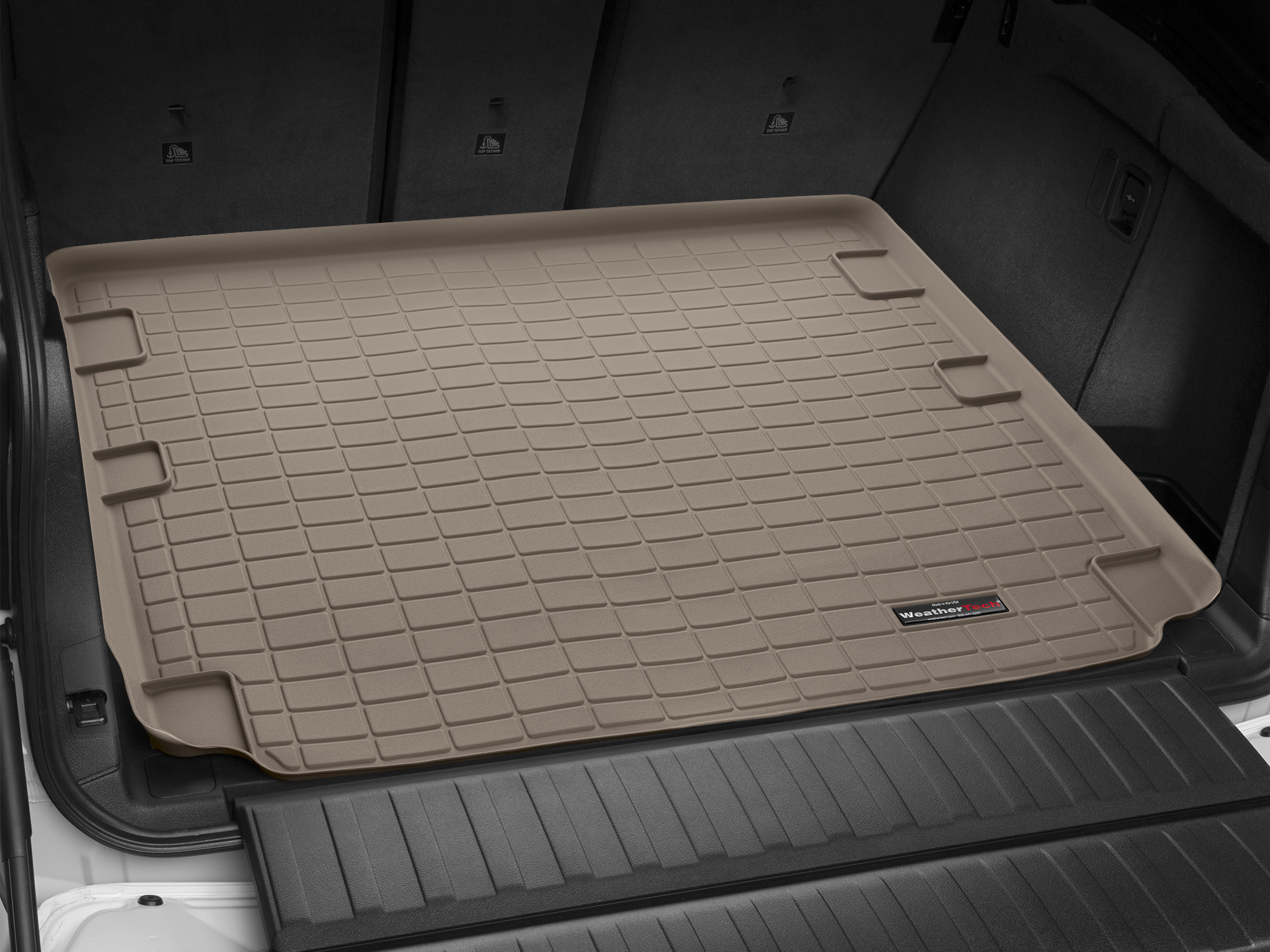BMW X5 2013>2017 Vasca proteggi baule bagagliaio marrone *250*