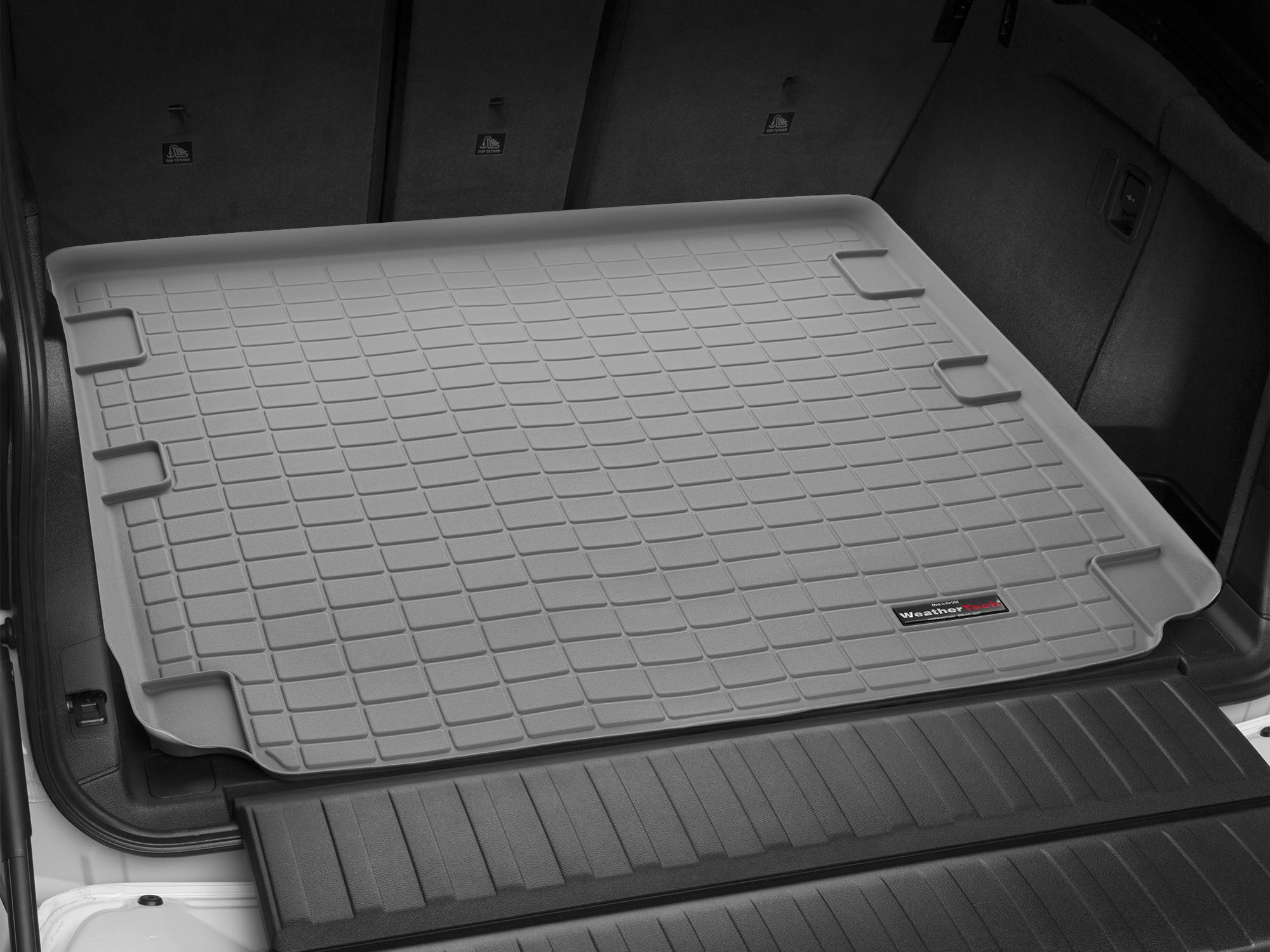 BMW X5 M 2007>2012 Vasca proteggi baule tappeto bagagliaio grigio *253