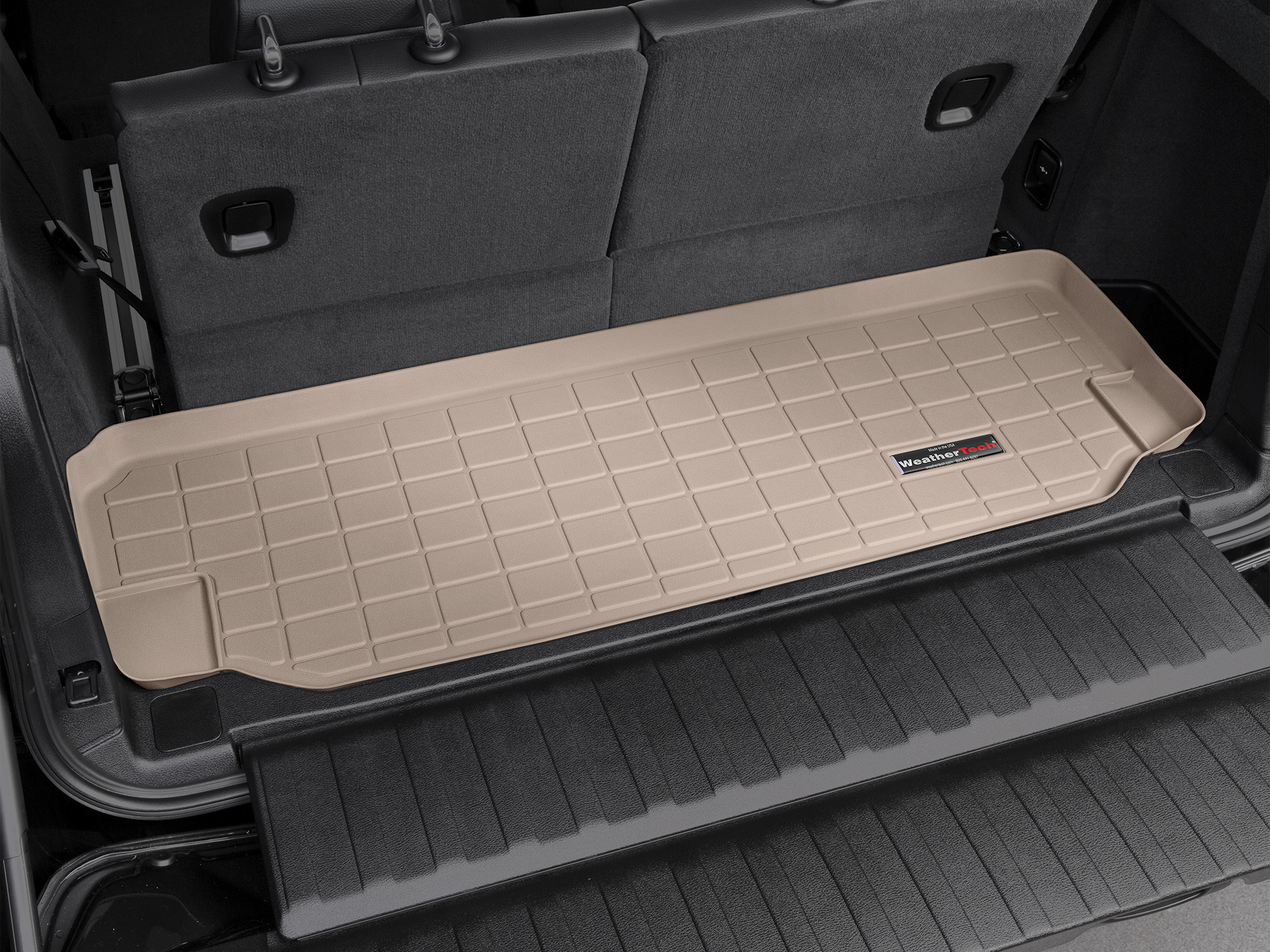 BMW X5 2013>2017 Vasca proteggi baule tappeto bagagliaio marrone *249