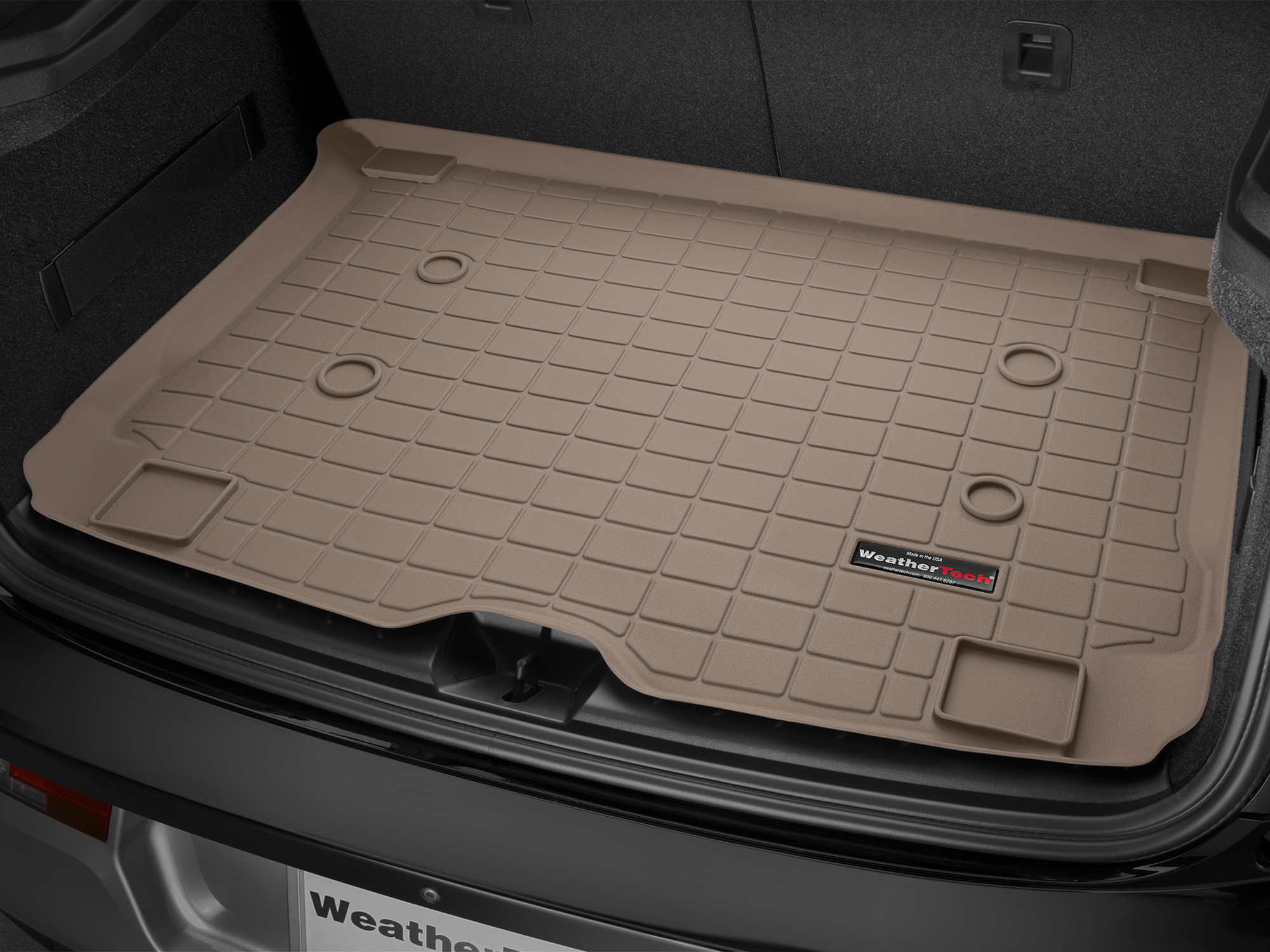 BMW i3 2013>2017 Vasca proteggi baule bagagliaio marrone *192*