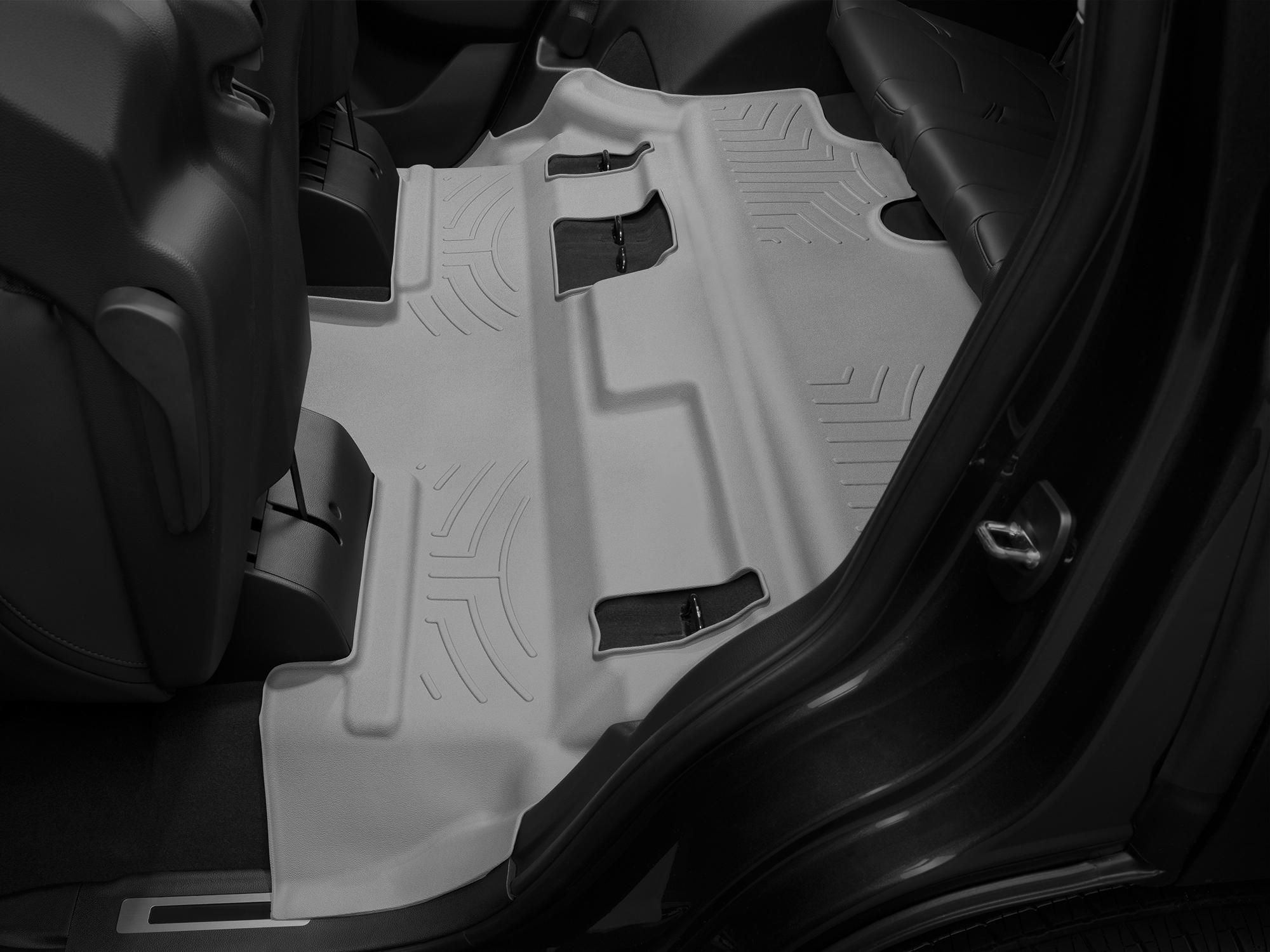 Tappeti gomma su misura bordo alto Cadillac Escalade 15>17 Grigio A27*