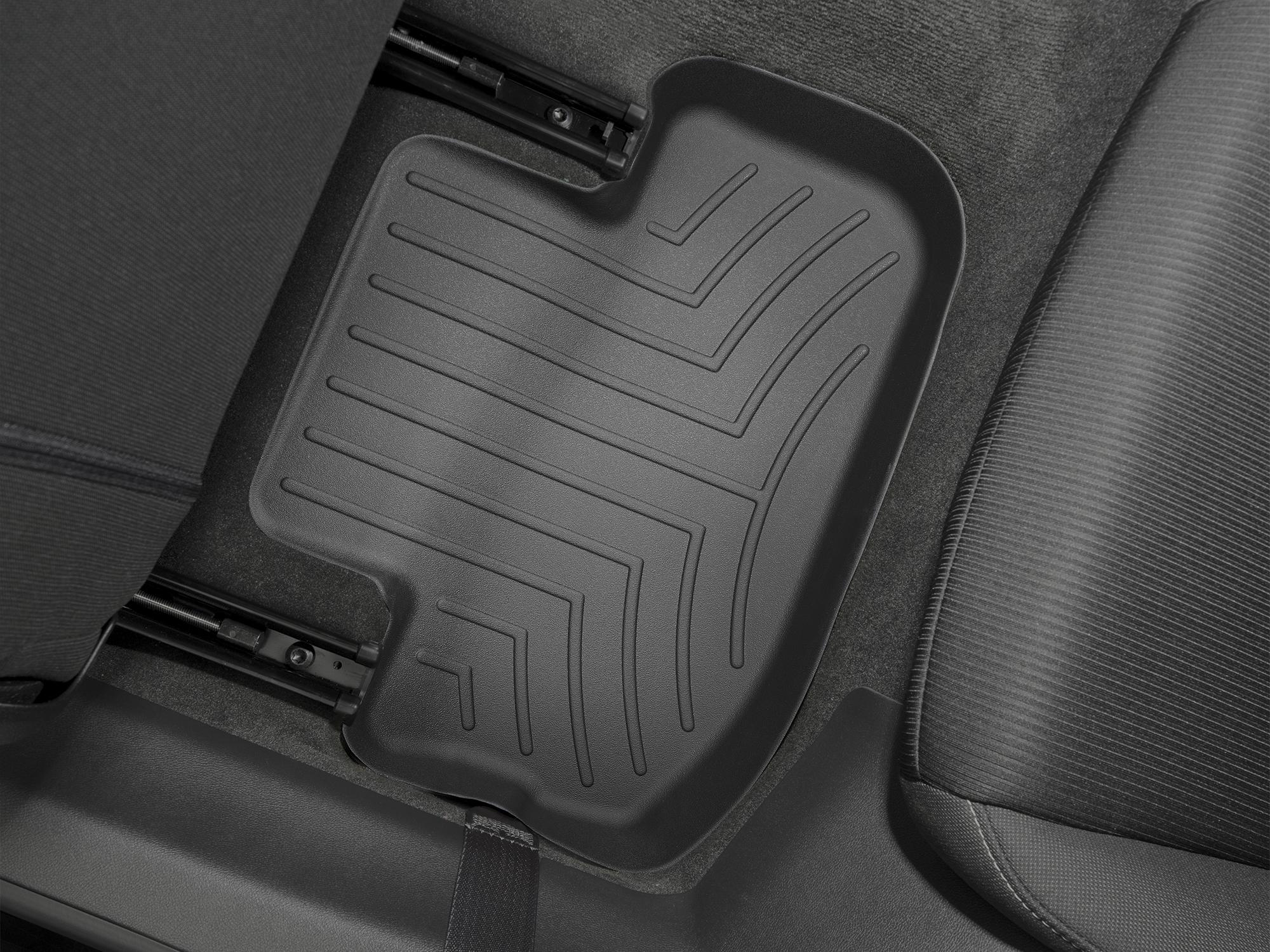 Tappeti gomma su misura bordo alto Chevrolet Camaro 10>15 Nero A103*