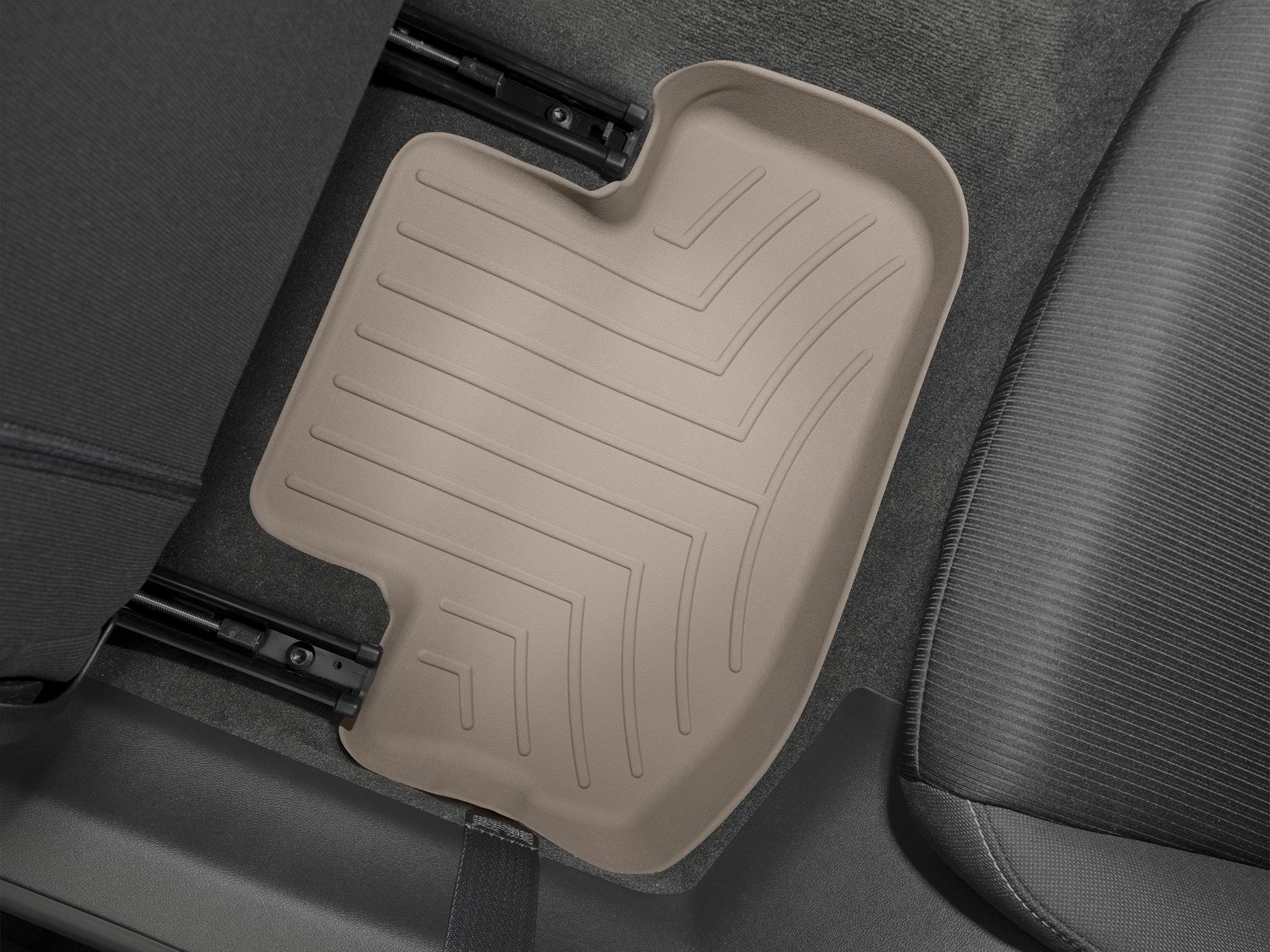 Tappeti gomma su misura bordo alto Chevrolet Camaro 10>15 Marrone A101*