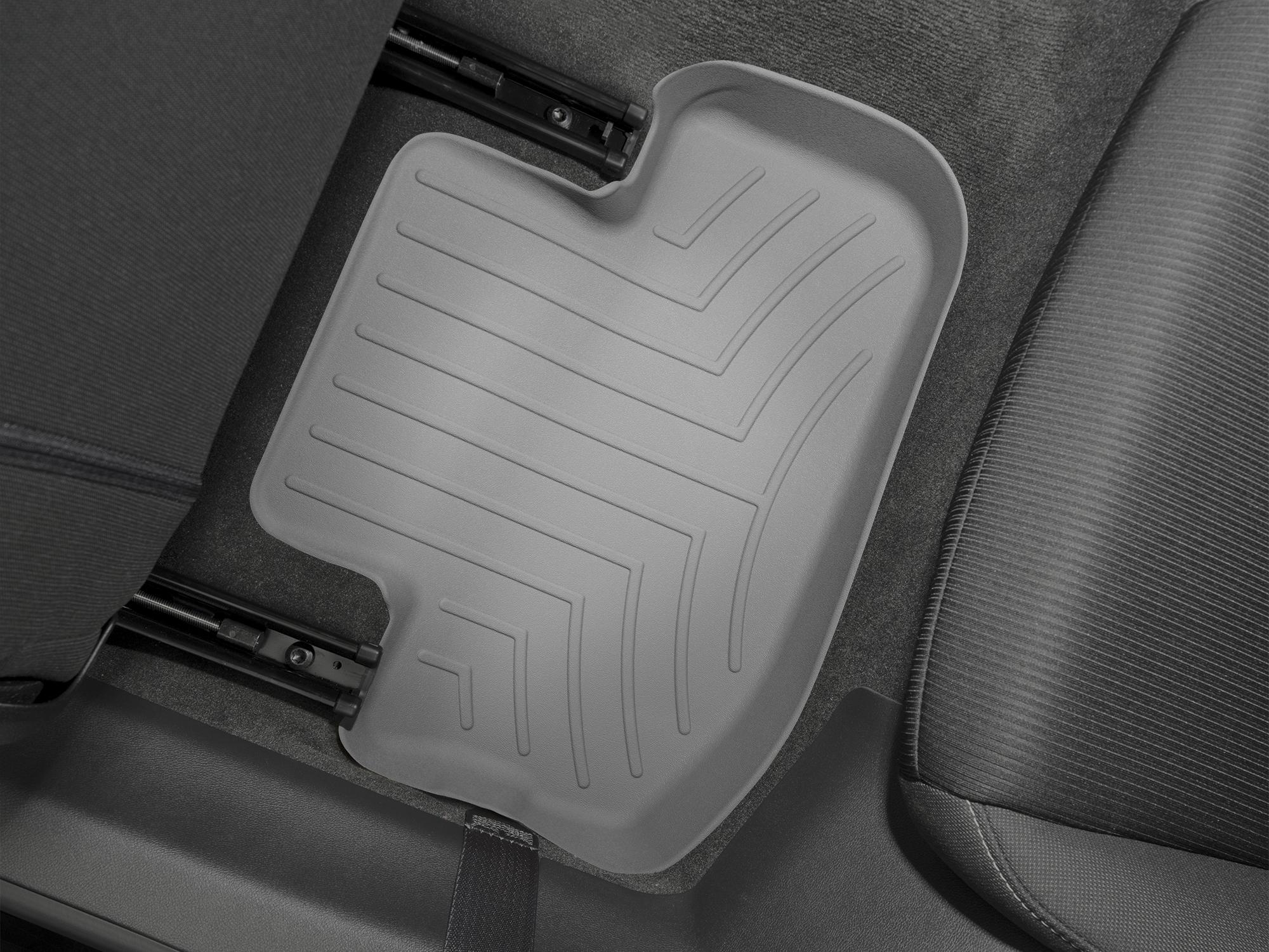 Tappeti gomma su misura bordo alto Chevrolet Camaro 10>15 Grigio A99*