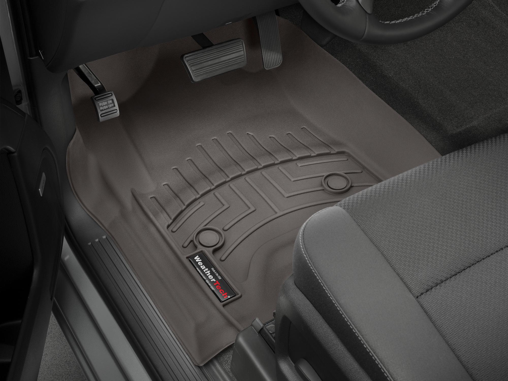 Tappeti gomma su misura bordo alto Chevrolet Silverado 14>17 Cacao A192