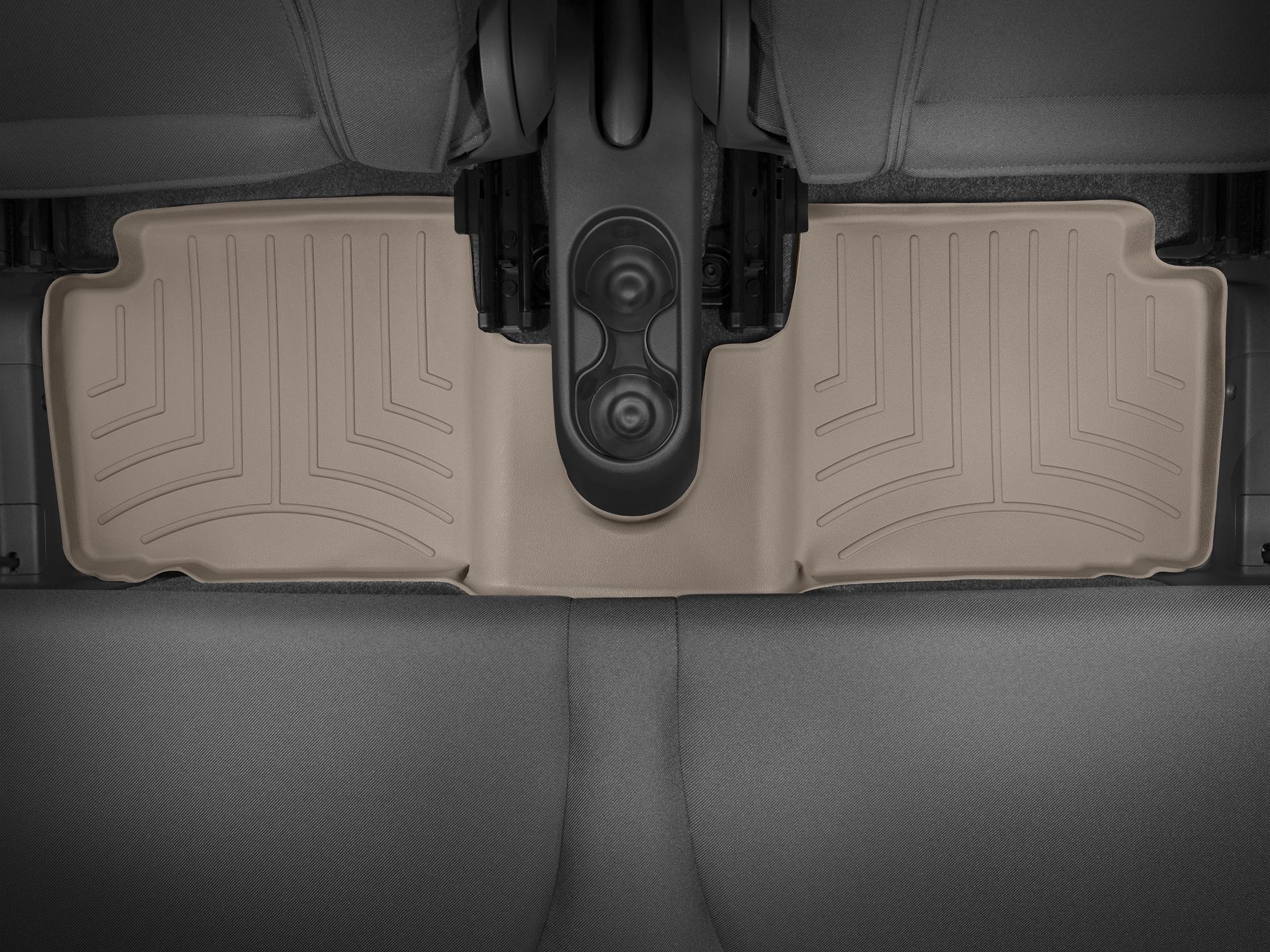 Tappeti gomma su misura bordo alto Fiat 500C 09>17 Marrone A765*