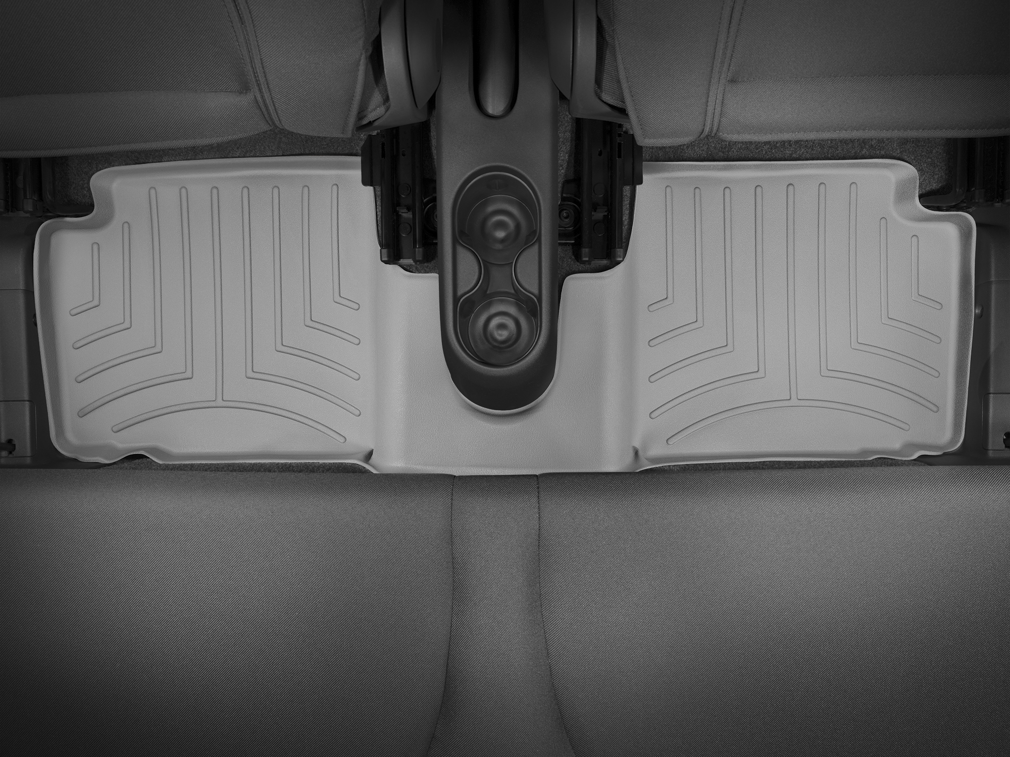 Tappeti gomma su misura bordo alto Fiat 500C 09>17 Grigio A762*