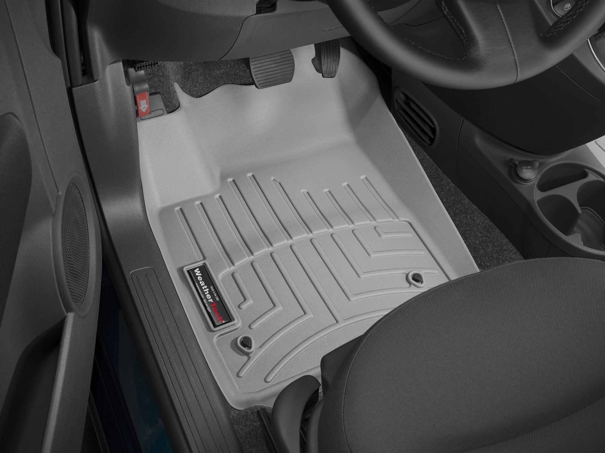 Tappeti gomma su misura bordo alto Fiat 500C 09>17 Grigio A760*
