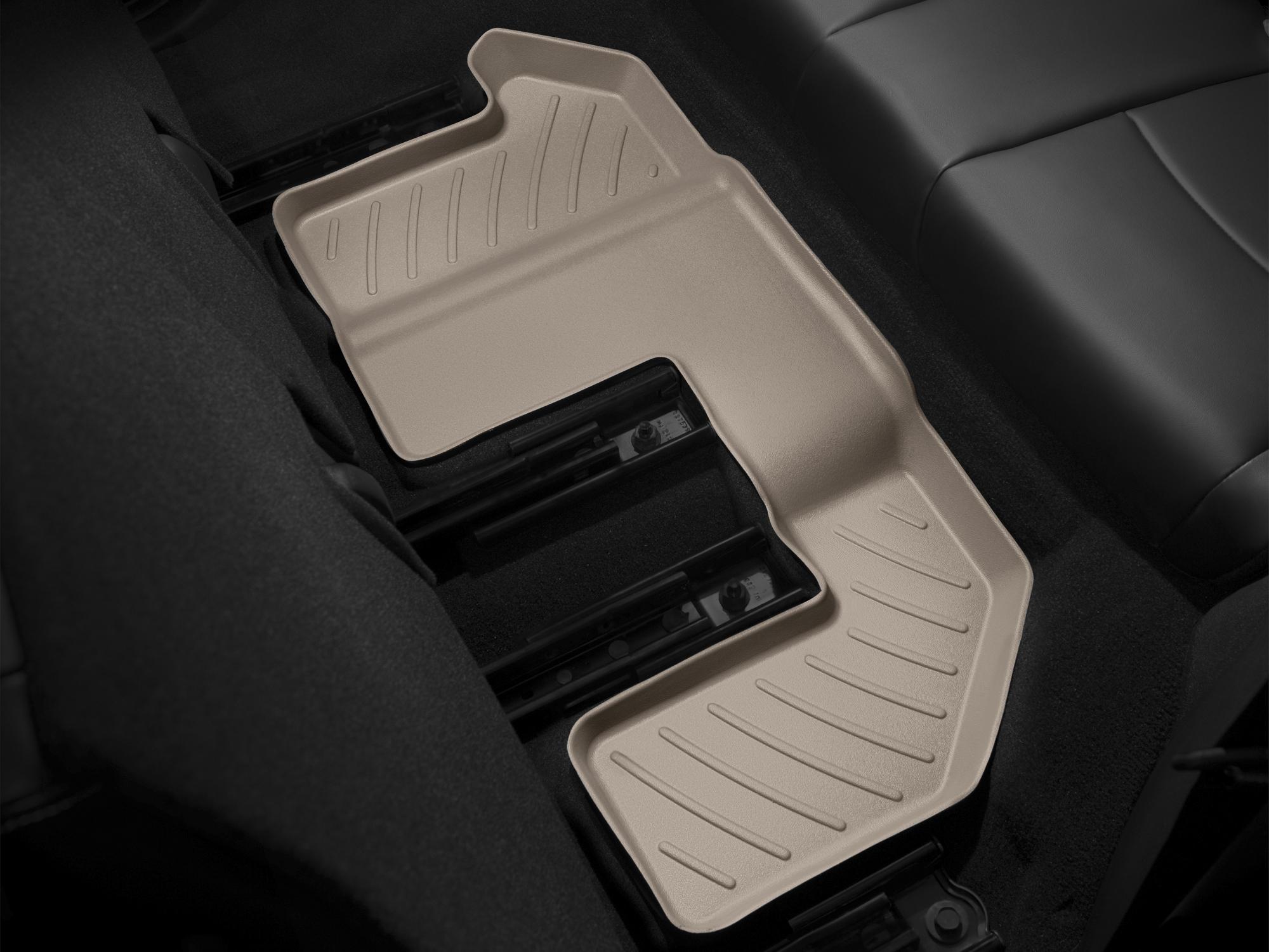 Tappeti gomma su misura bordo alto Fiat Freemont 11>17 Marrone A794*