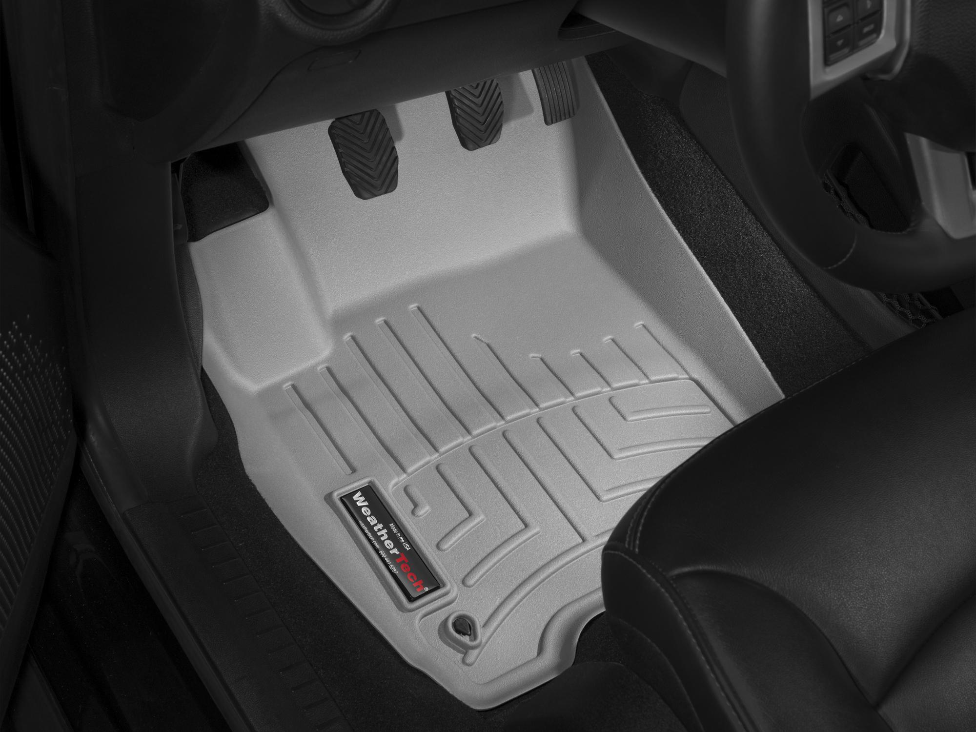 Tappeti gomma su misura bordo alto Fiat Freemont 11>17 Grigio A783*