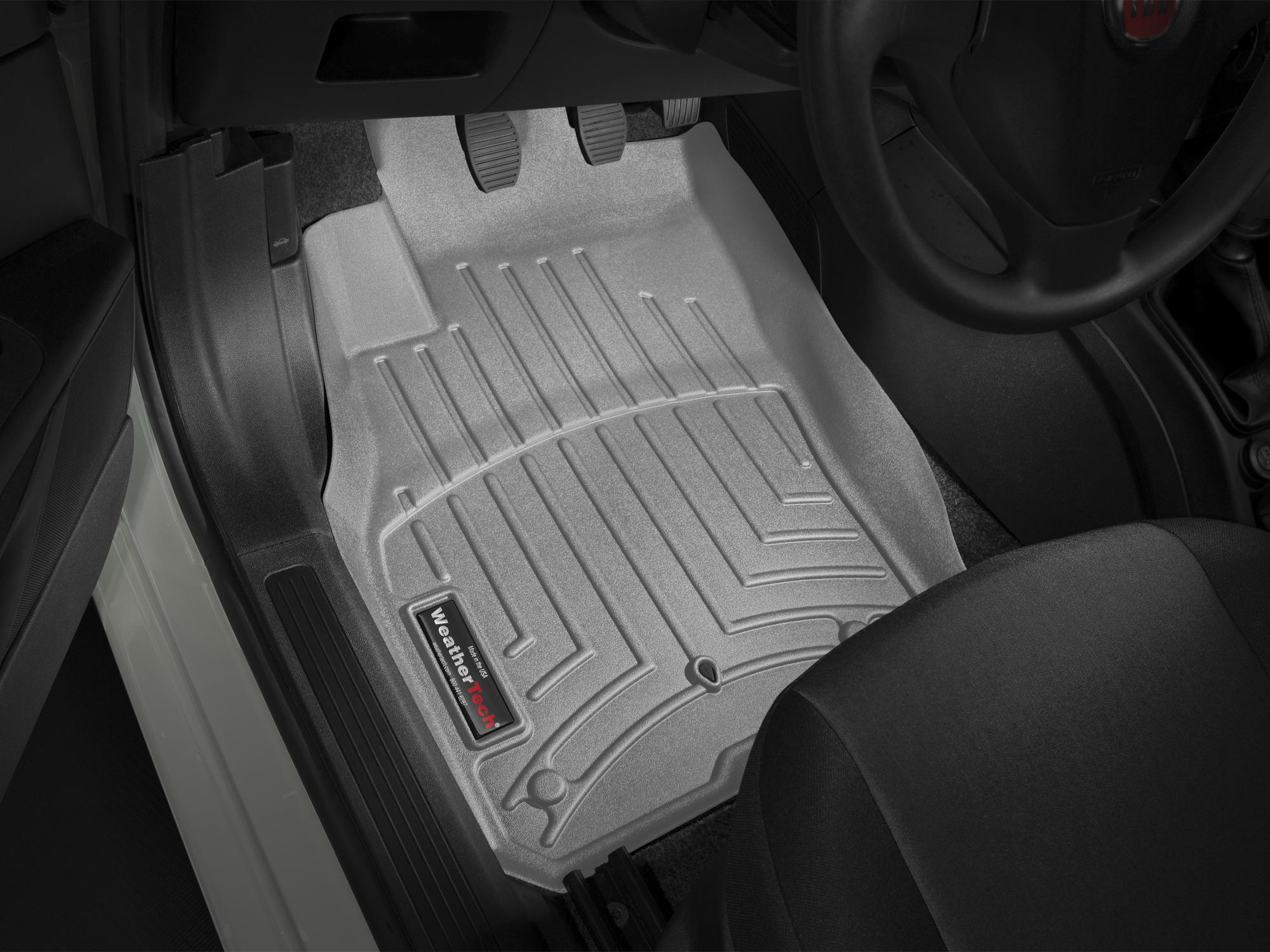 Tappeti gomma su misura bordo alto Fiat Grande Punto 05>17 Grigio A801*