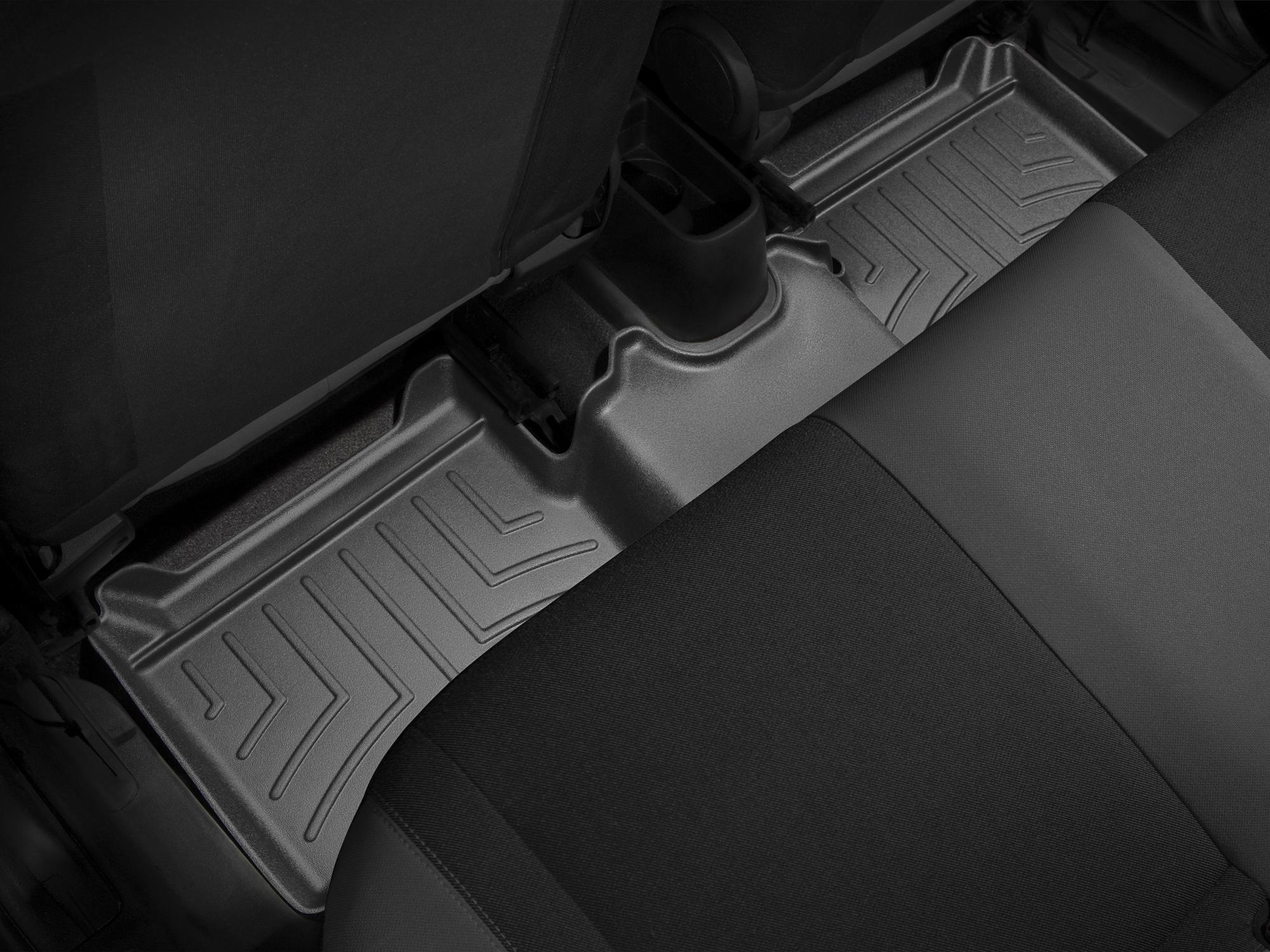Tappeti gomma su misura bordo alto Fiat Punto EVO 09>13 Nero A835*