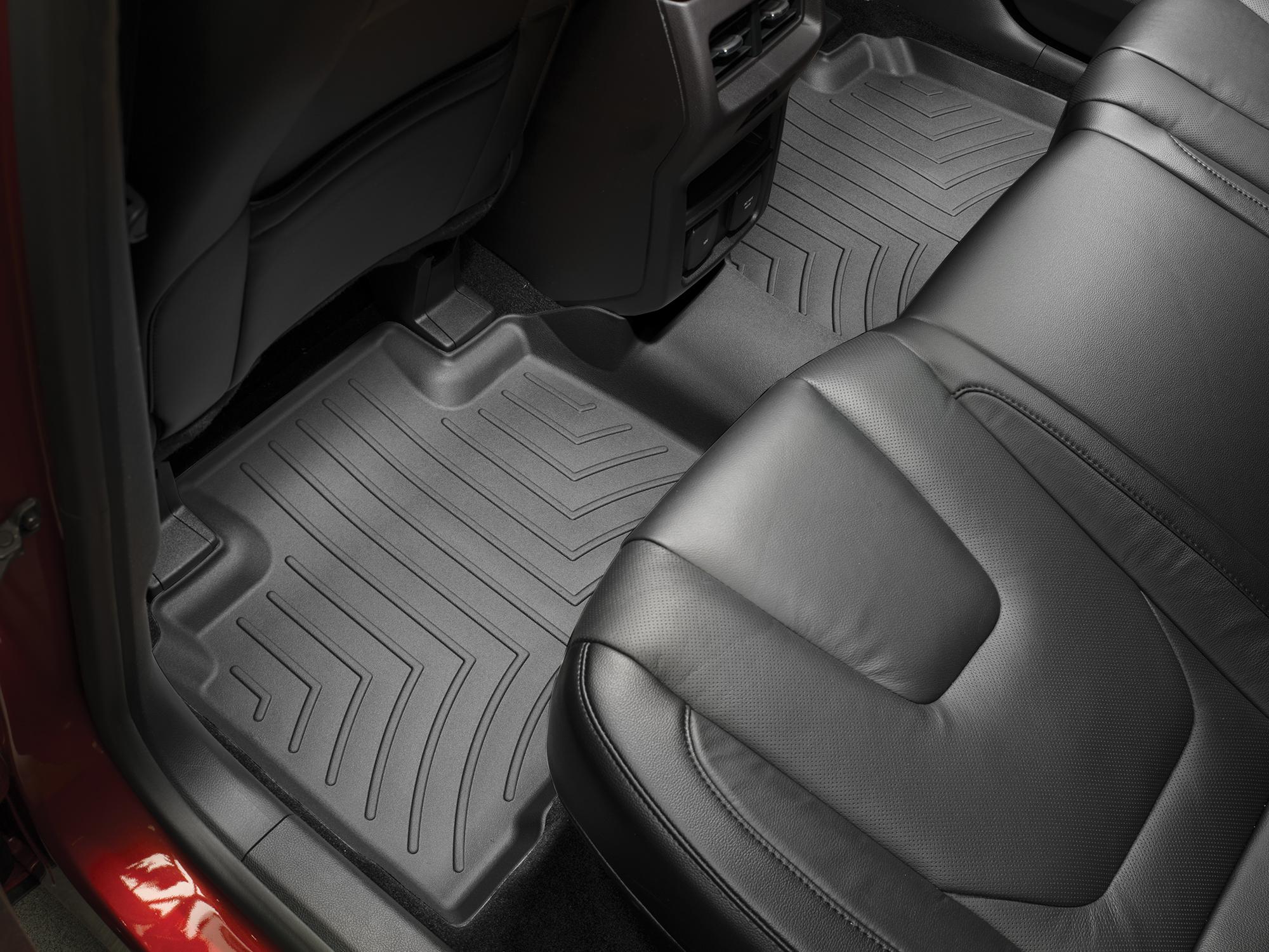 Tappeti gomma su misura bordo alto Ford Edge 16>17 Nero A855*