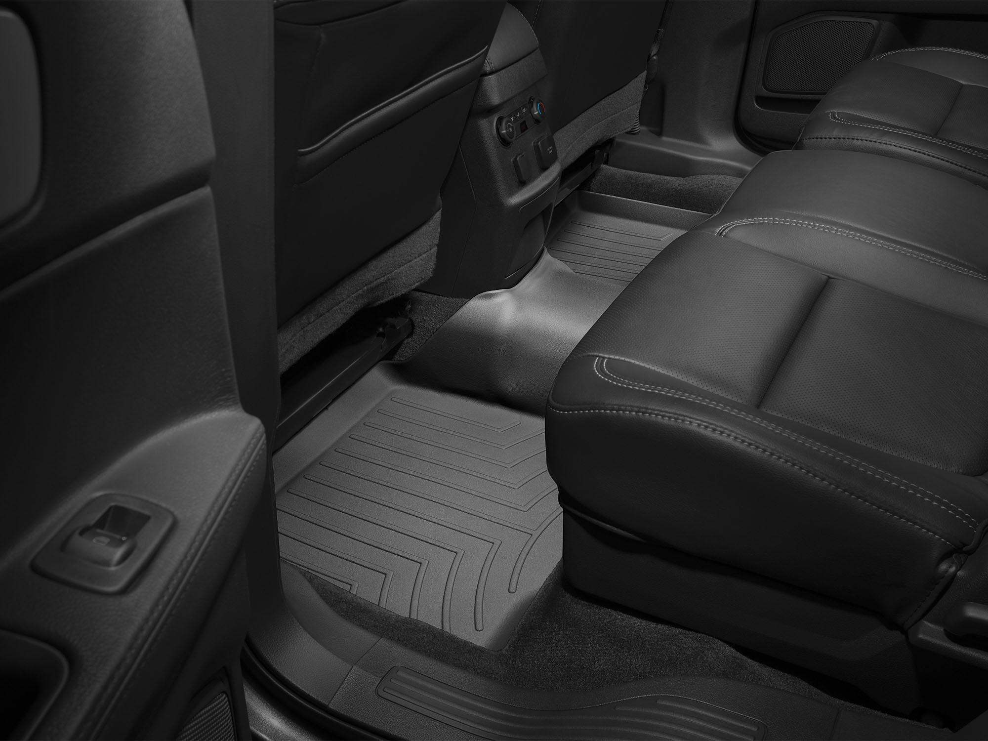 Tappeti gomma su misura bordo alto Ford Explorer 11>17 Nero A877*