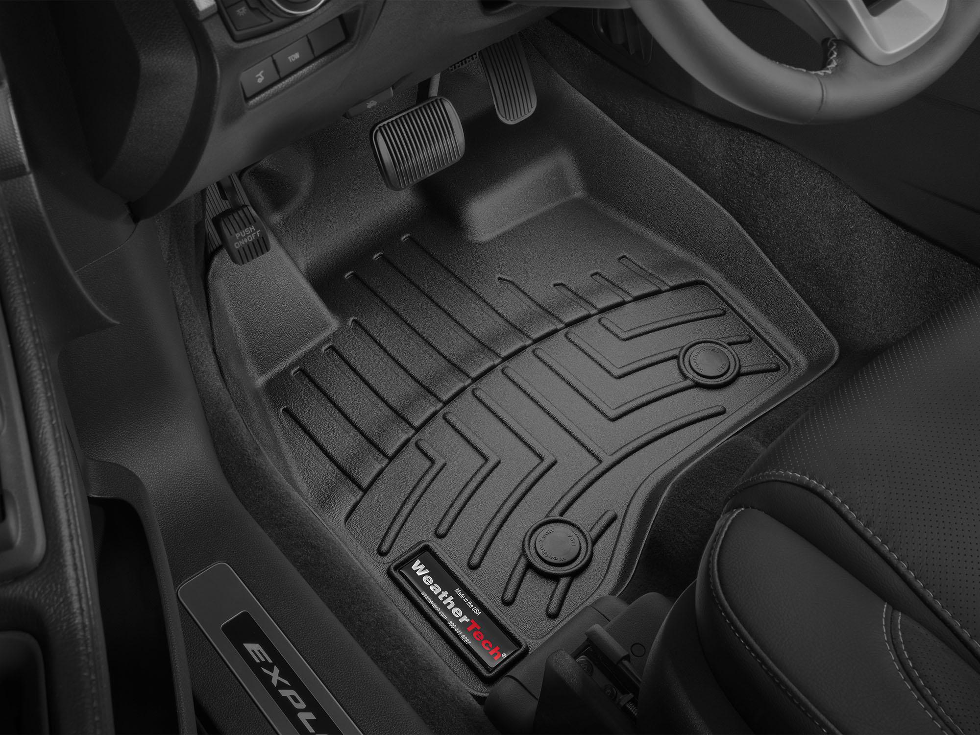 Tappeti gomma su misura bordo alto Ford Explorer 15>16 Nero A881*