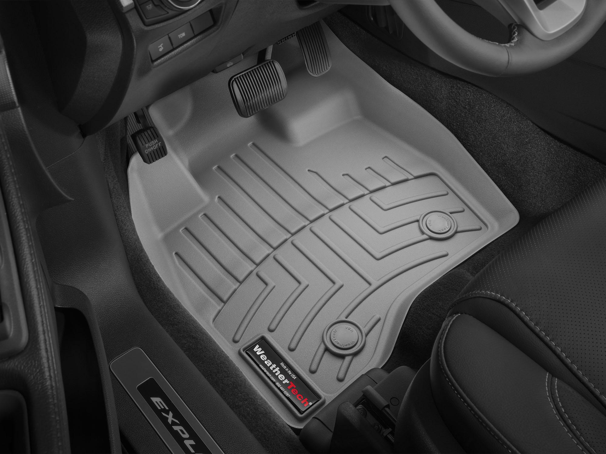 Tappeti gomma su misura bordo alto Ford Explorer 15>16 Grigio A879*