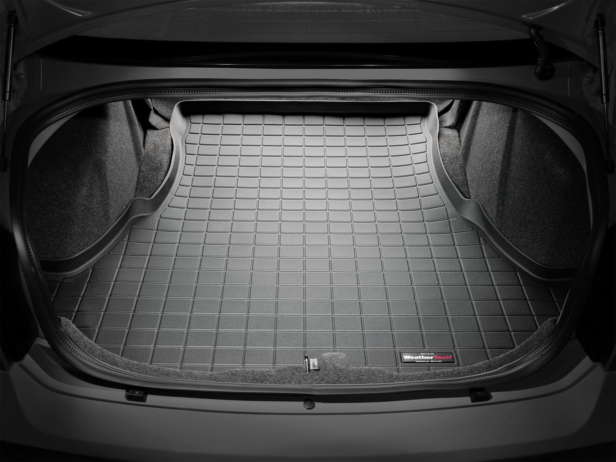 Lancia Thema 2011>2014 Vasca proteggi baule tappeto bagagliaio nero *721