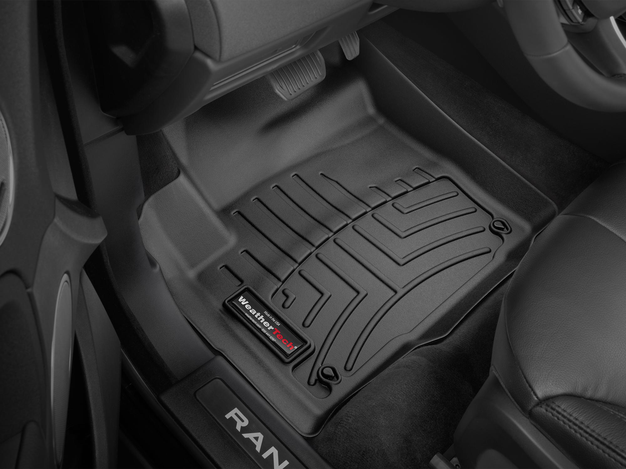Tappeti gomma su misura bordo alto Land Rover 16>17 Nero A2009*
