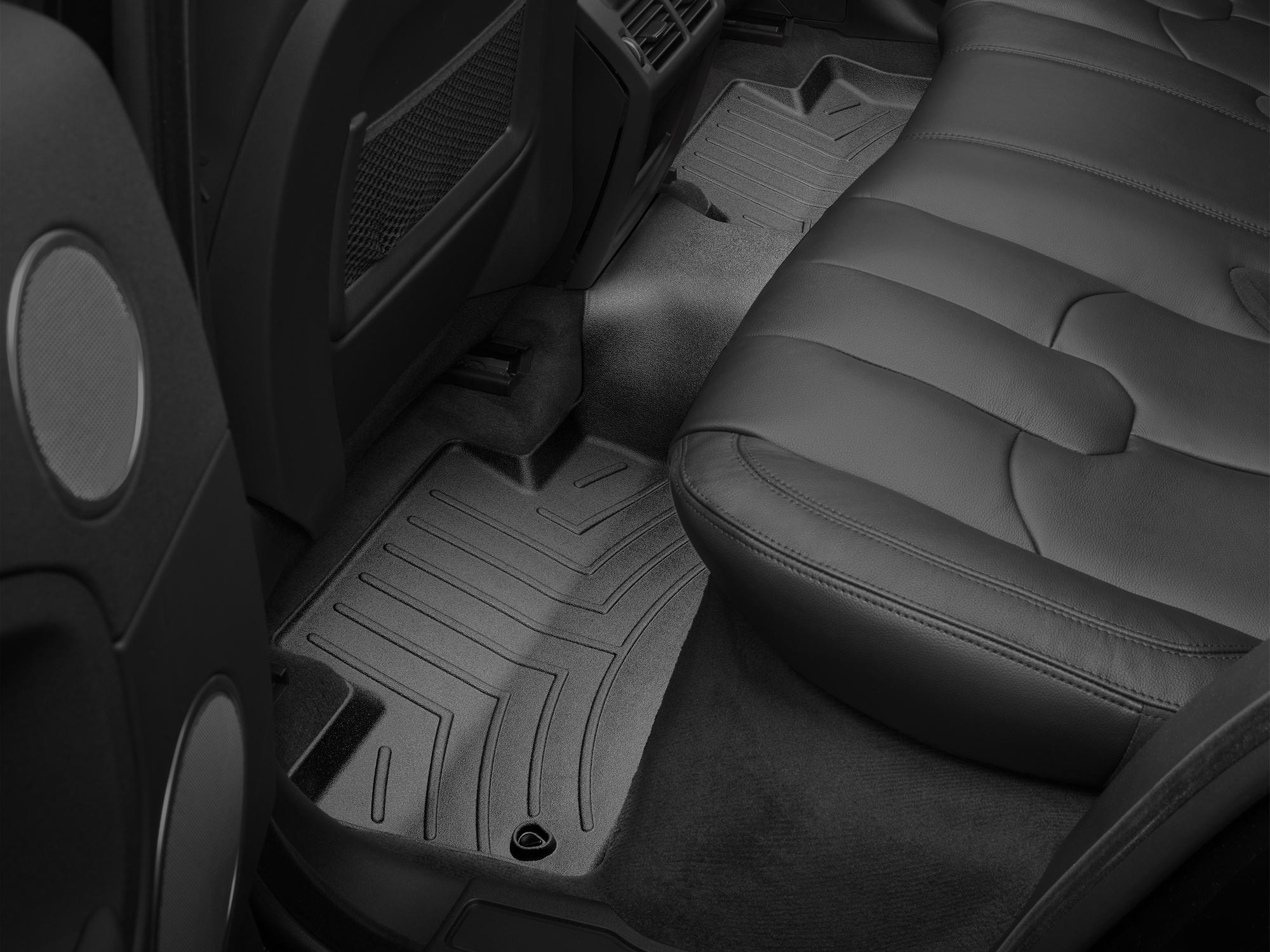 Tappeti gomma su misura bordo alto Land Rover 16>17 Nero A2010*