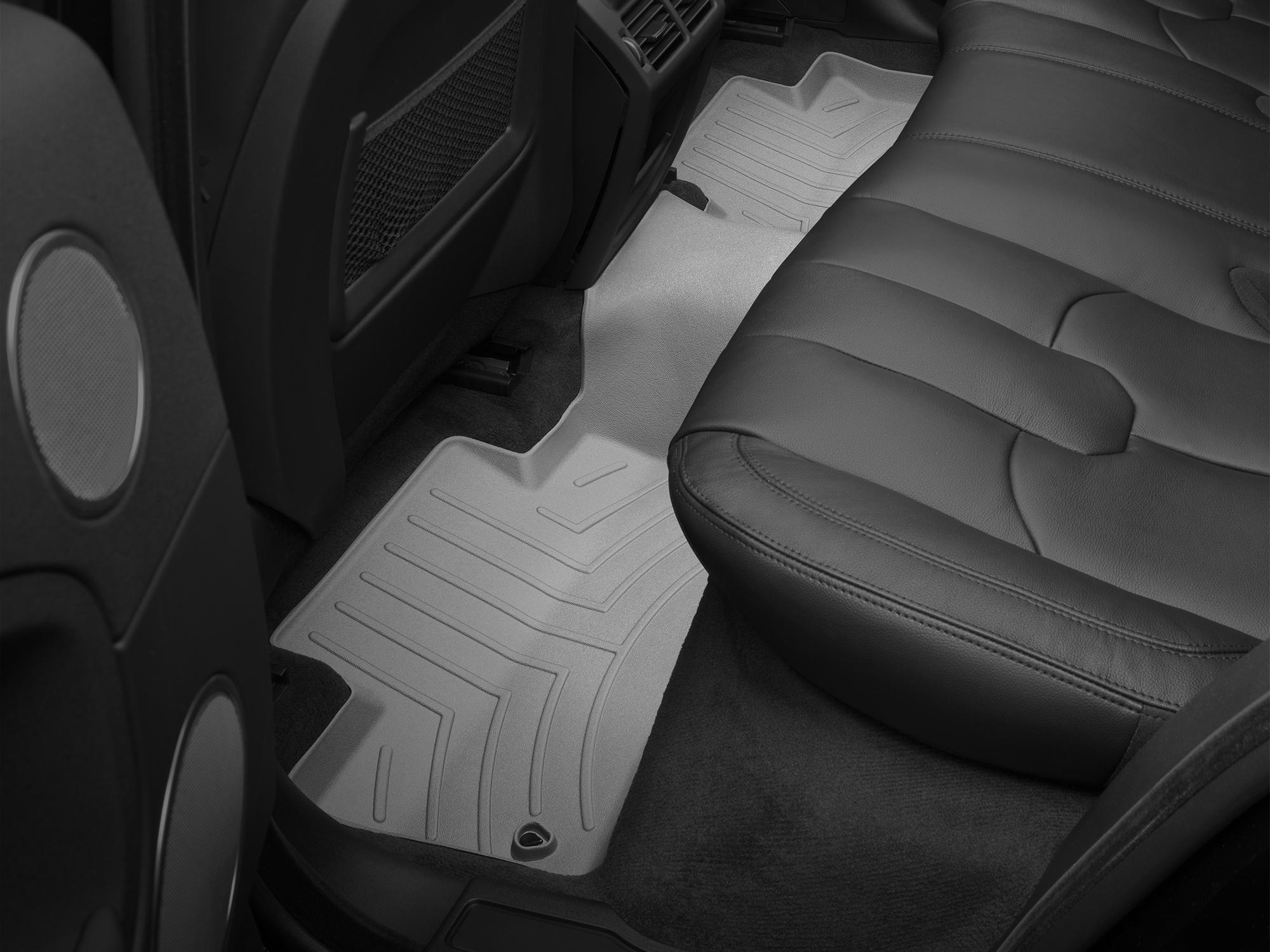 Tappeti gomma su misura bordo alto Land Rover 16>17 Grigio A2006*