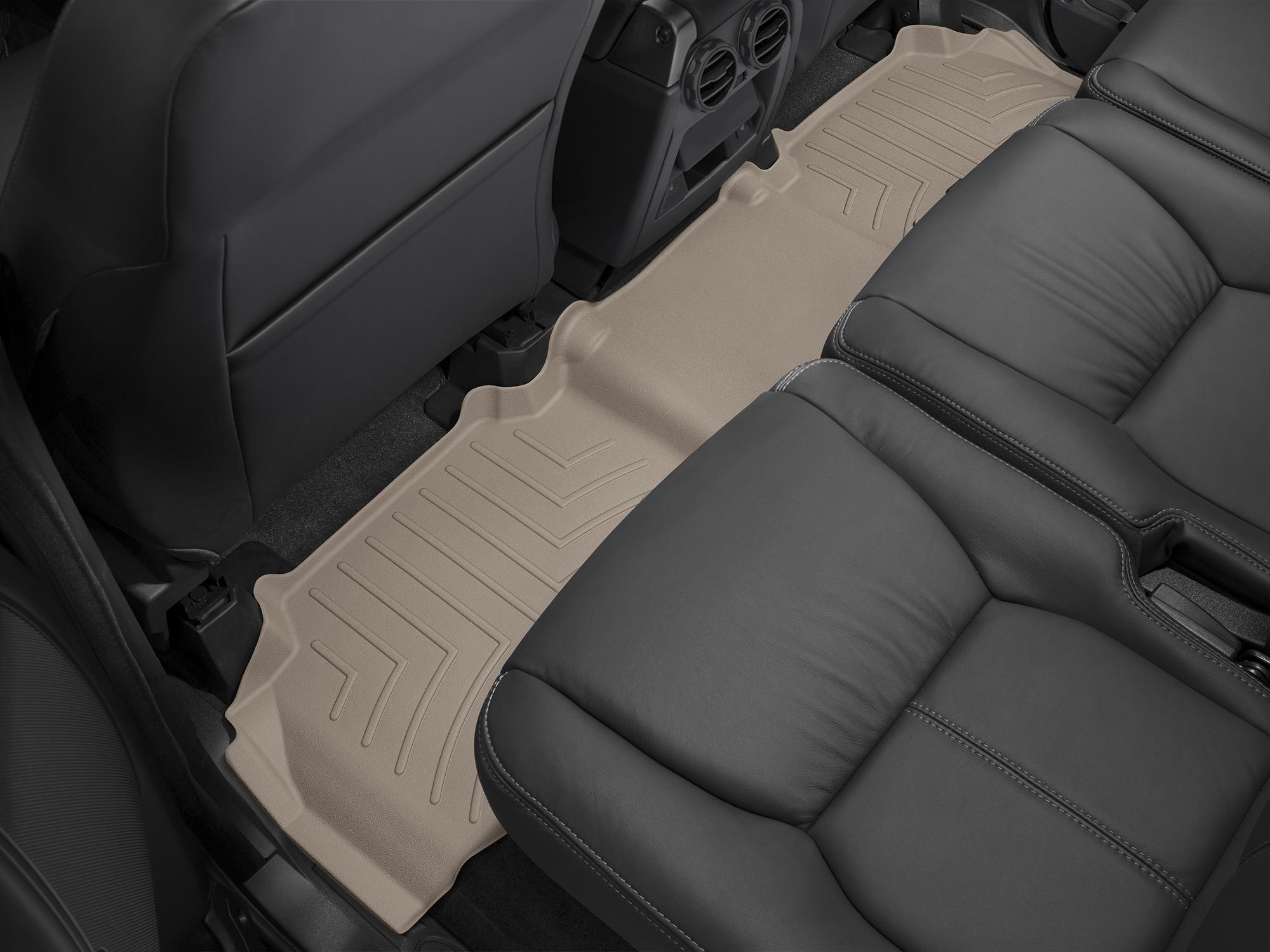 Tappeti gomma su misura bordo alto Land Rover 13>17 Marrone A1984*