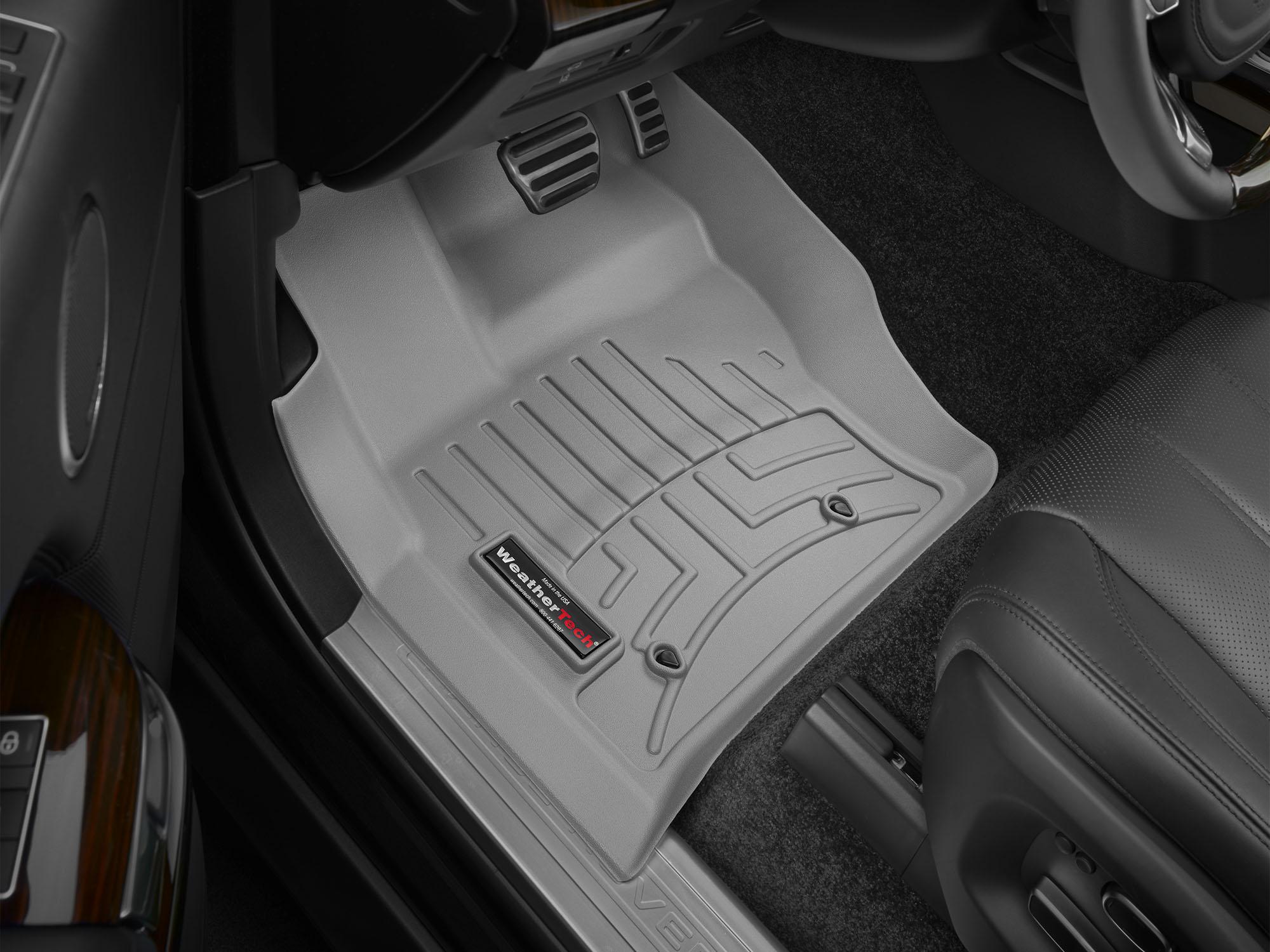 Tappeti gomma su misura bordo alto Land Rover 14>17 Grigio A1991*