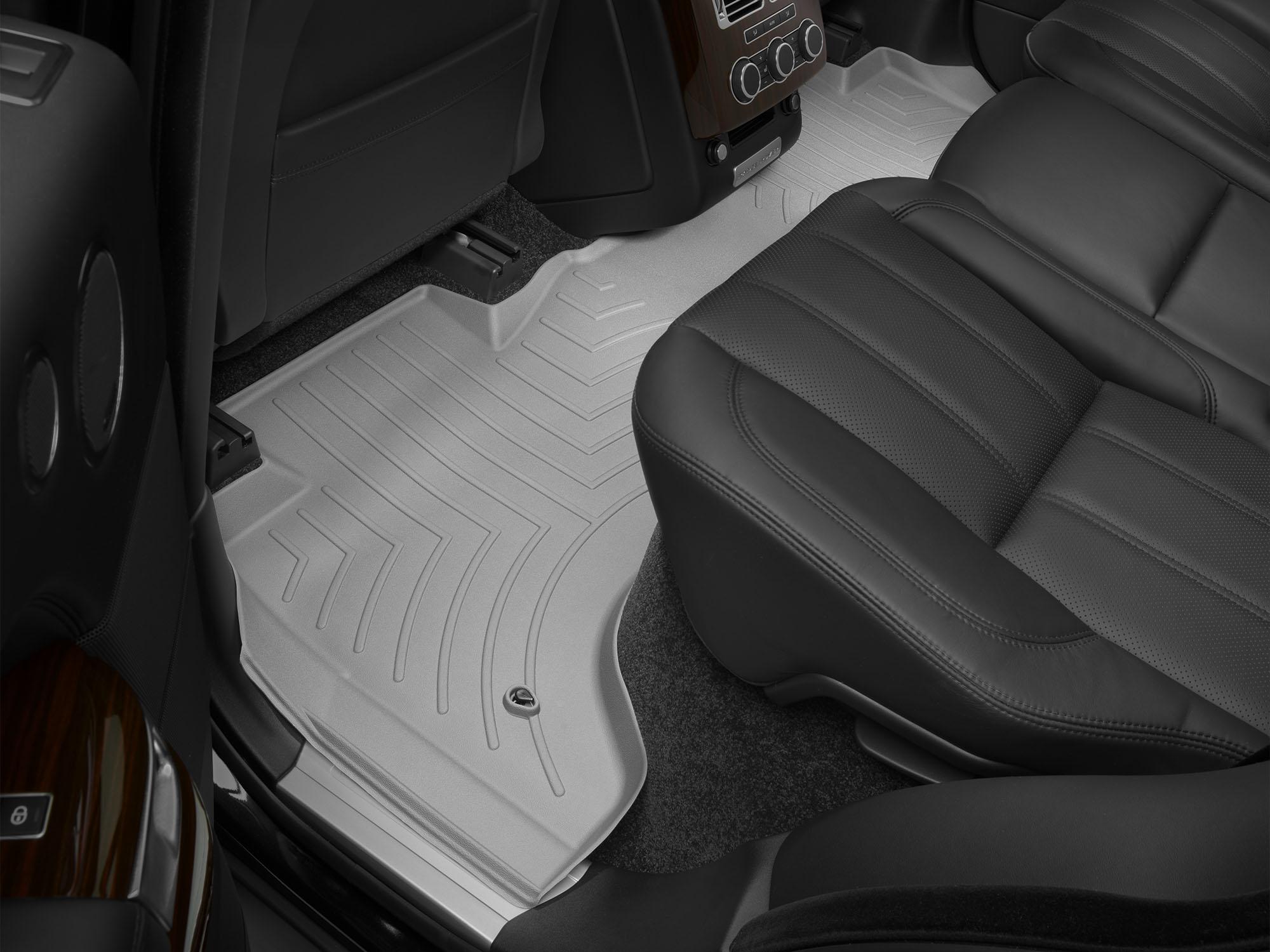Tappeti gomma su misura bordo alto Land Rover 13>17 Grigio A1980*
