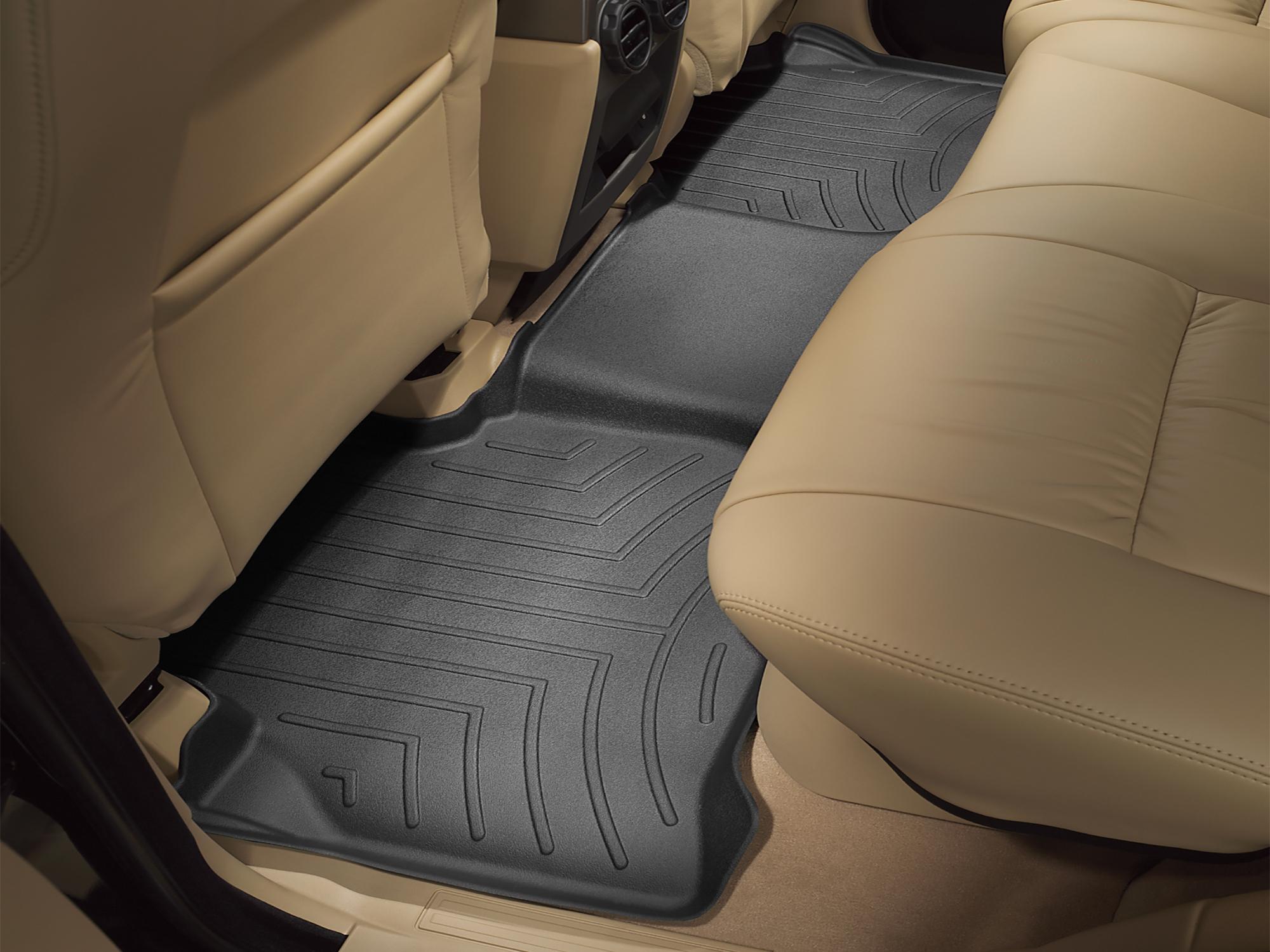 Tappeti gomma su misura bordo alto Land Rover 09>12 Nero A1943*