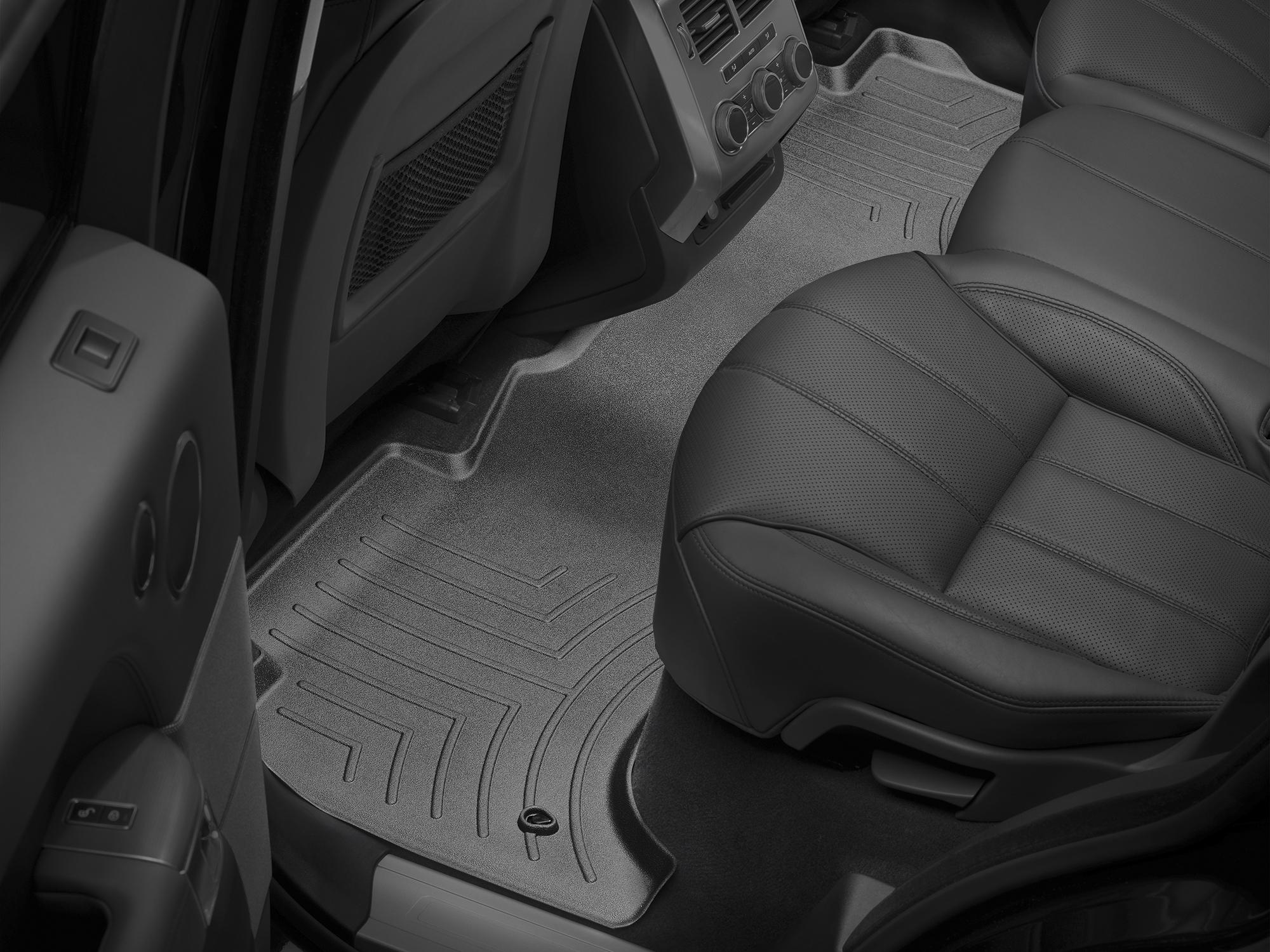 Tappeti gomma su misura bordo alto Land Rover 14>17 Nero A1996*