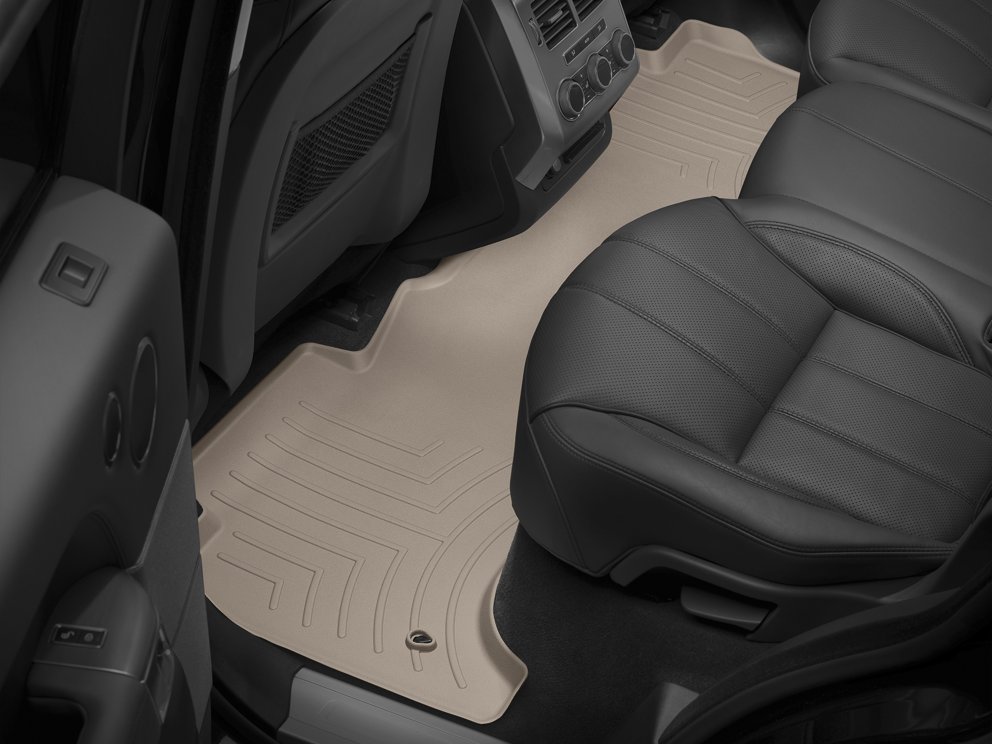 Tappeti gomma su misura bordo alto Land Rover 14>17 Marrone A1994*