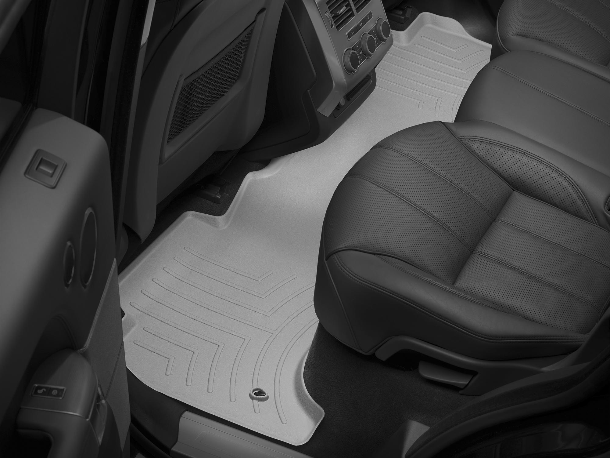 Tappeti gomma su misura bordo alto Land Rover 14>17 Grigio A1992*
