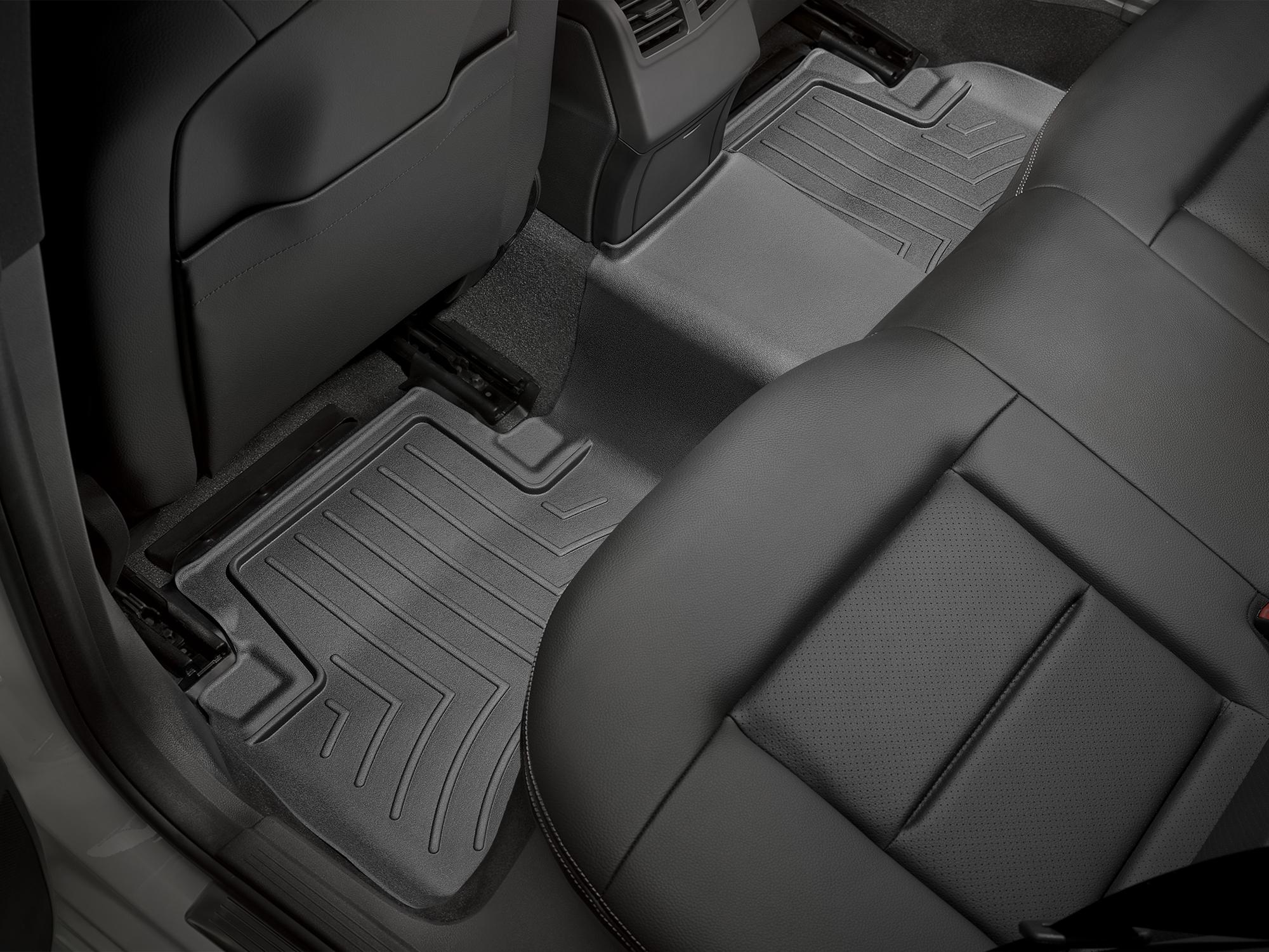 Tappeti gomma su misura bordo alto Mercedes E-Class 12>14 Nero A2409*