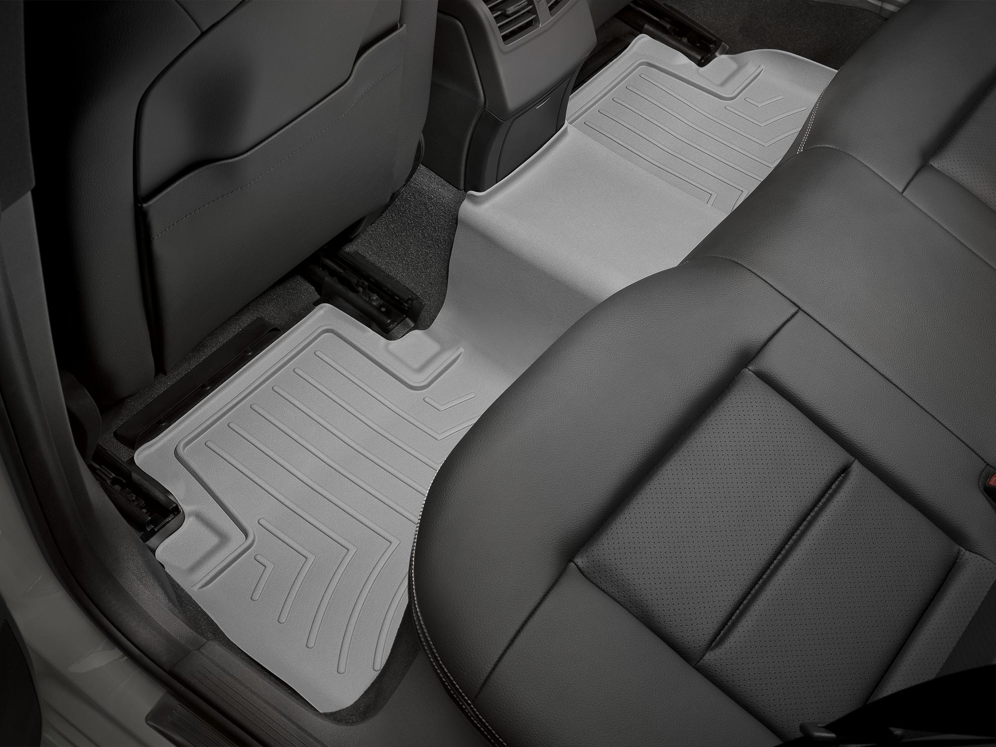 Tappeti gomma su misura bordo alto Mercedes E-Class 12>14 Grigio A2401*