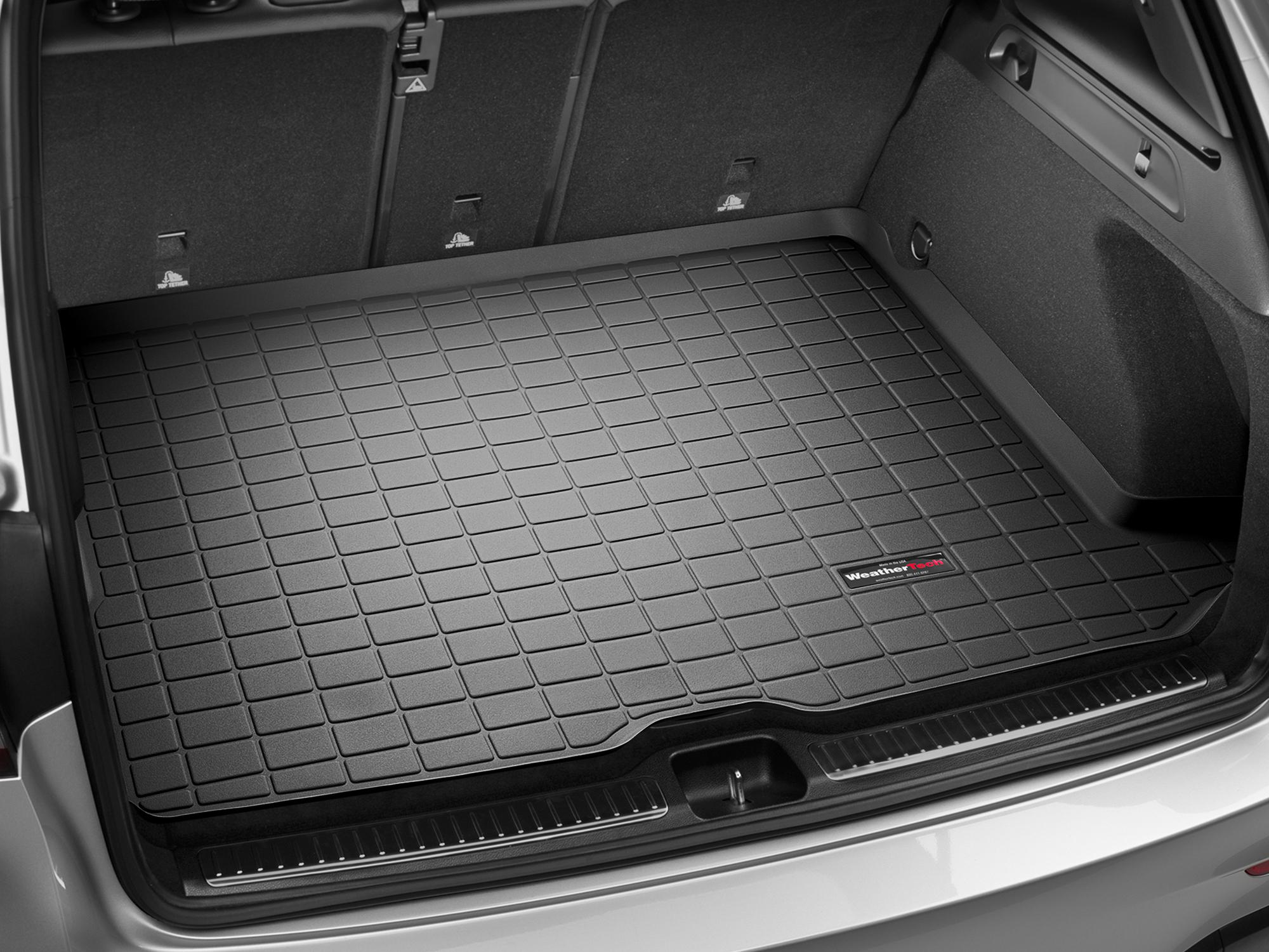 Mercedes-Benz GLC-Class 2015>2017 Vasca baule tappeto bagagliaio nero *892