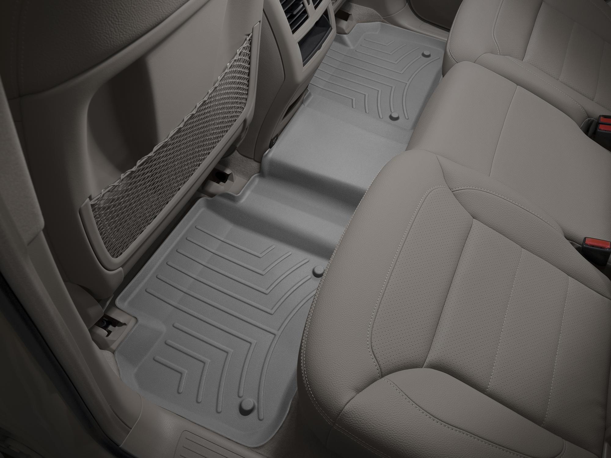 Tappeti gomma su misura bordo alto Mercedes ML-Class 12>15 Grigio A2536