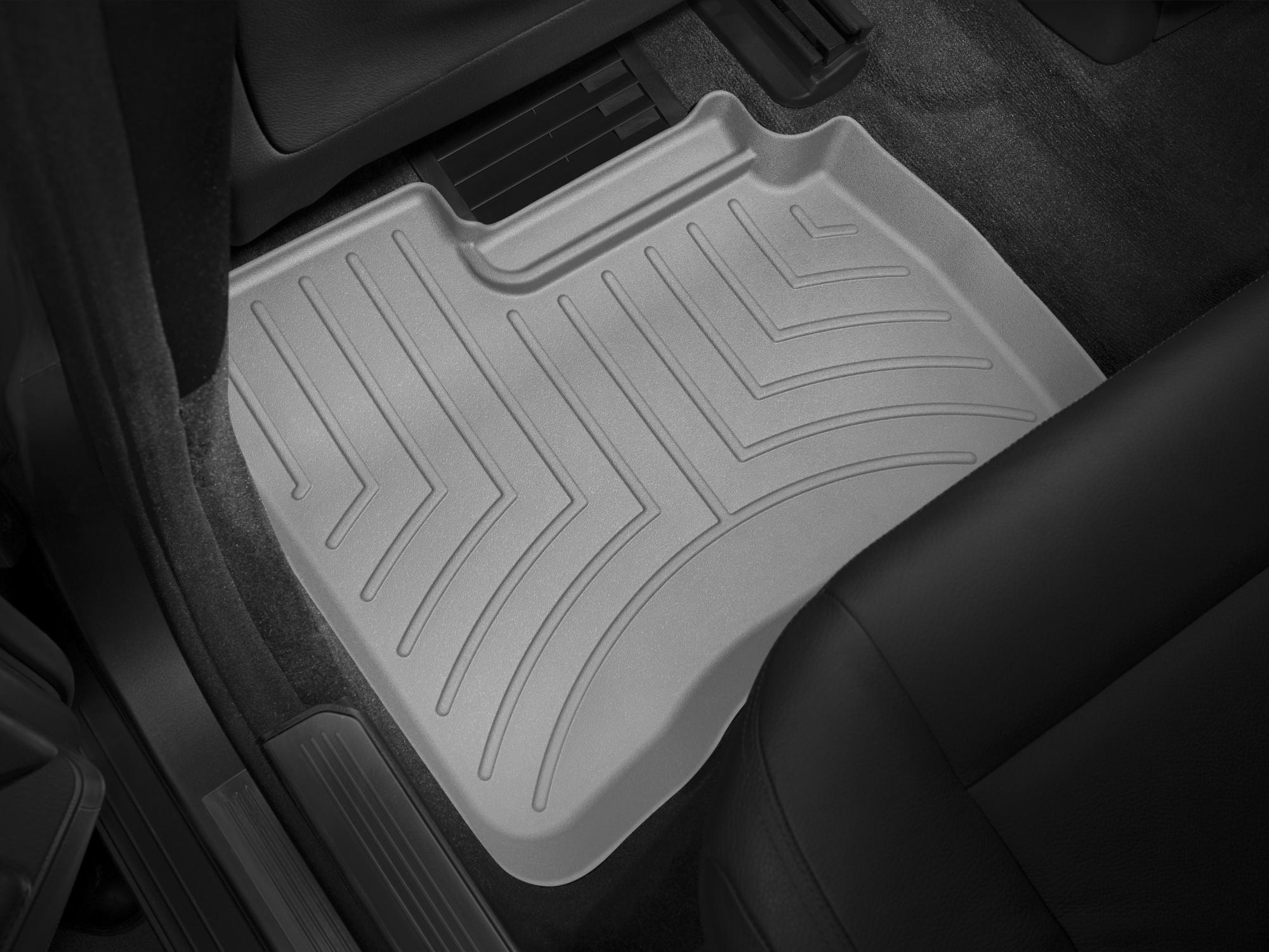 Tappeti gomma su misura bordo alto Mercedes S-Class 06>12 Grigio A2555