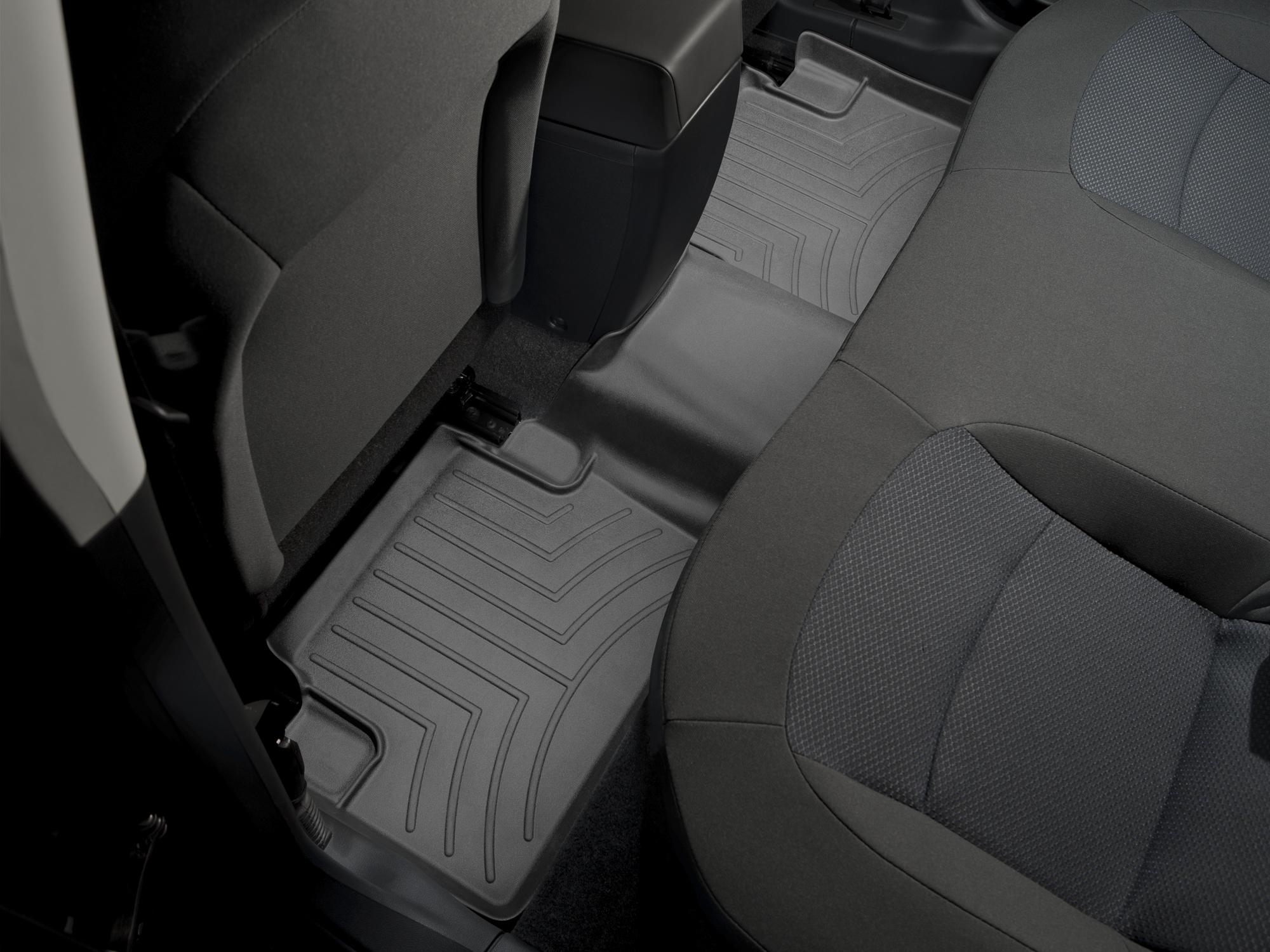 Tappeti gomma su misura bordo alto Nissan Qashqai 07>13 Nero A2916