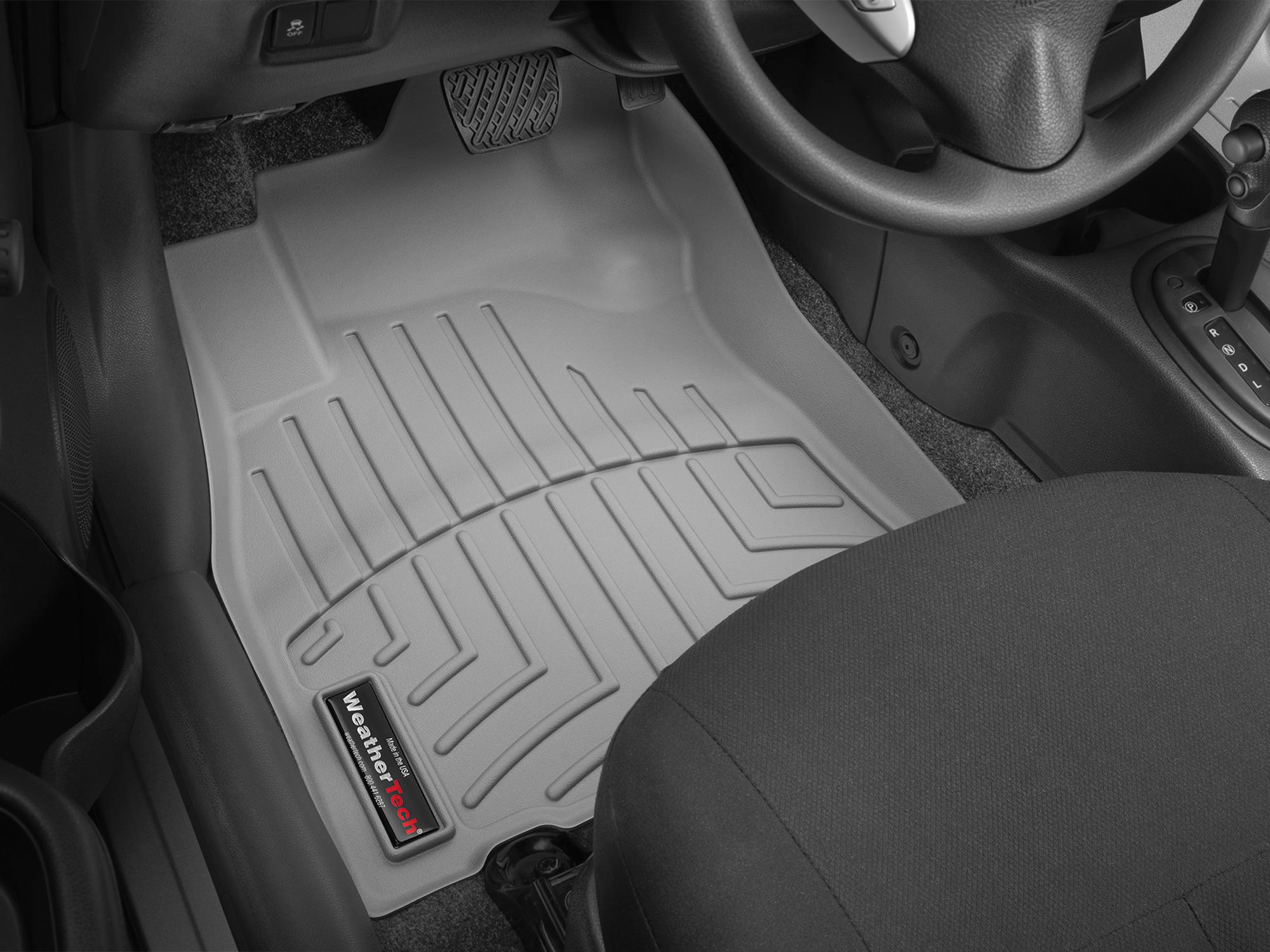 Tappeti gomma su misura bordo alto Nissan Note 13>13 Grigio A2895