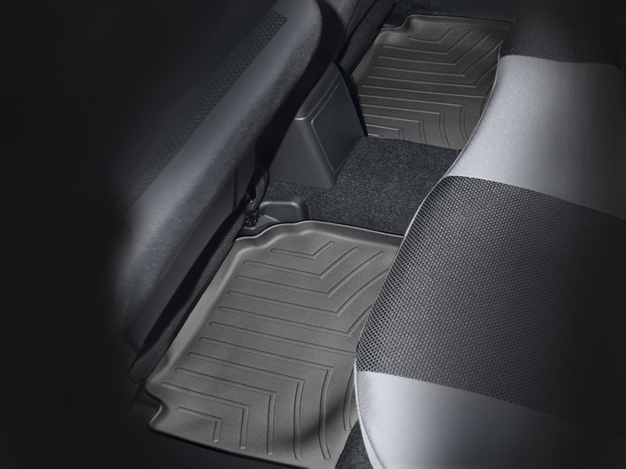 Tappeti gomma su misura bordo alto Subaru Impreza WRX STi 02>06 Nero A3453