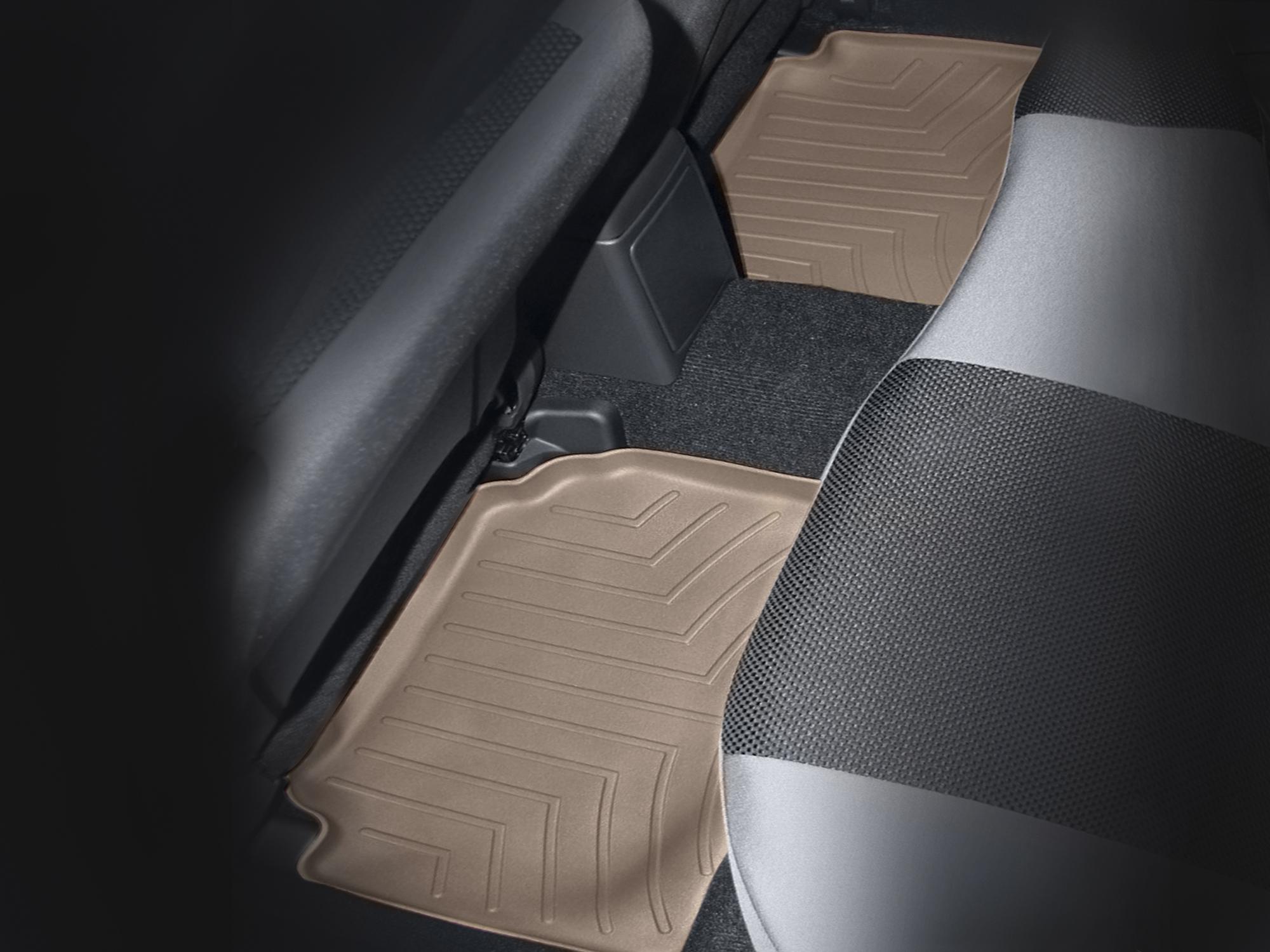 Tappeti gomma su misura bordo alto Subaru Impreza WRX STi 02>06 Marrone A3450