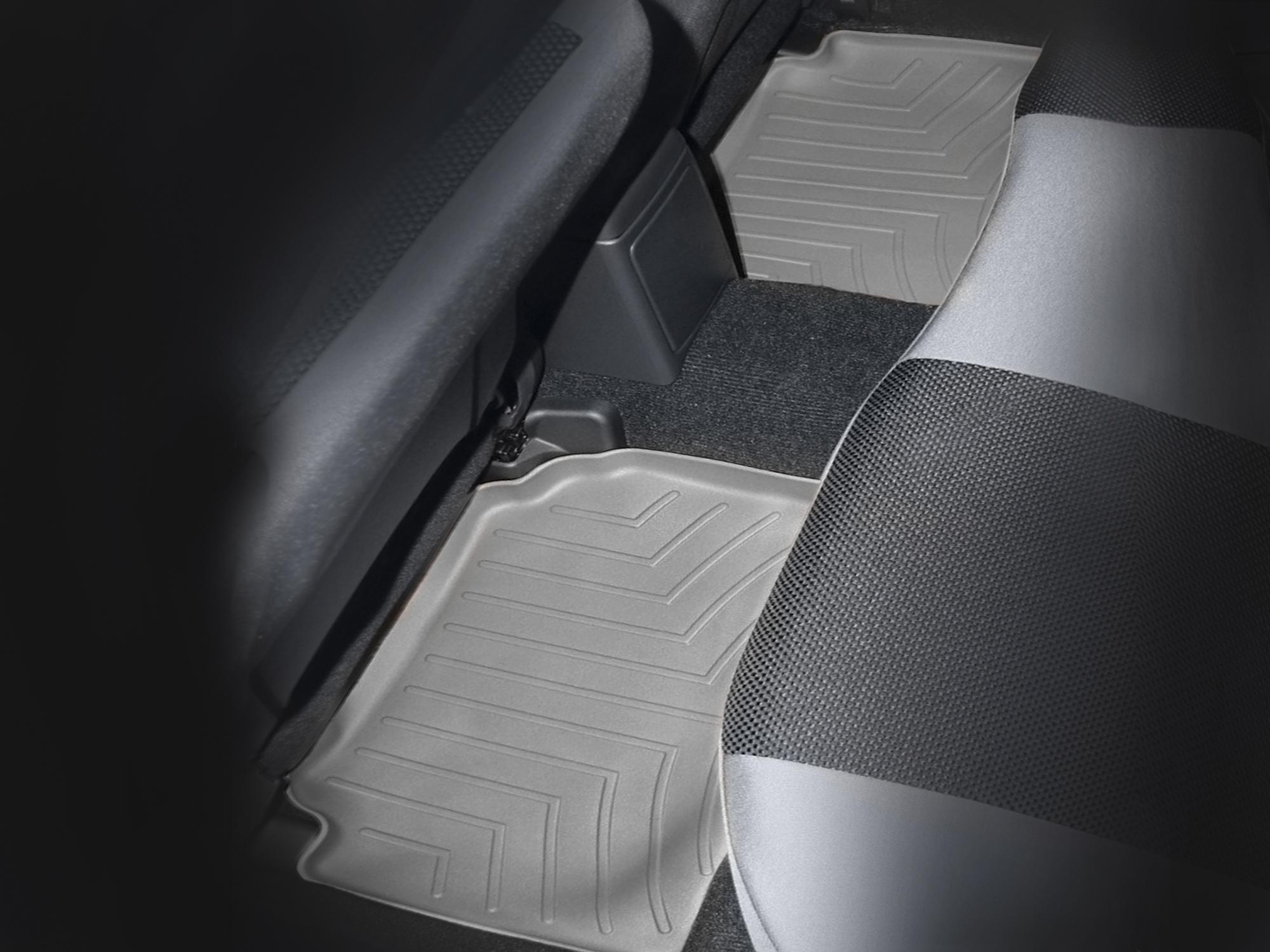 Tappeti gomma su misura bordo alto Subaru Impreza WRX STi 07>07 Grigio A3457