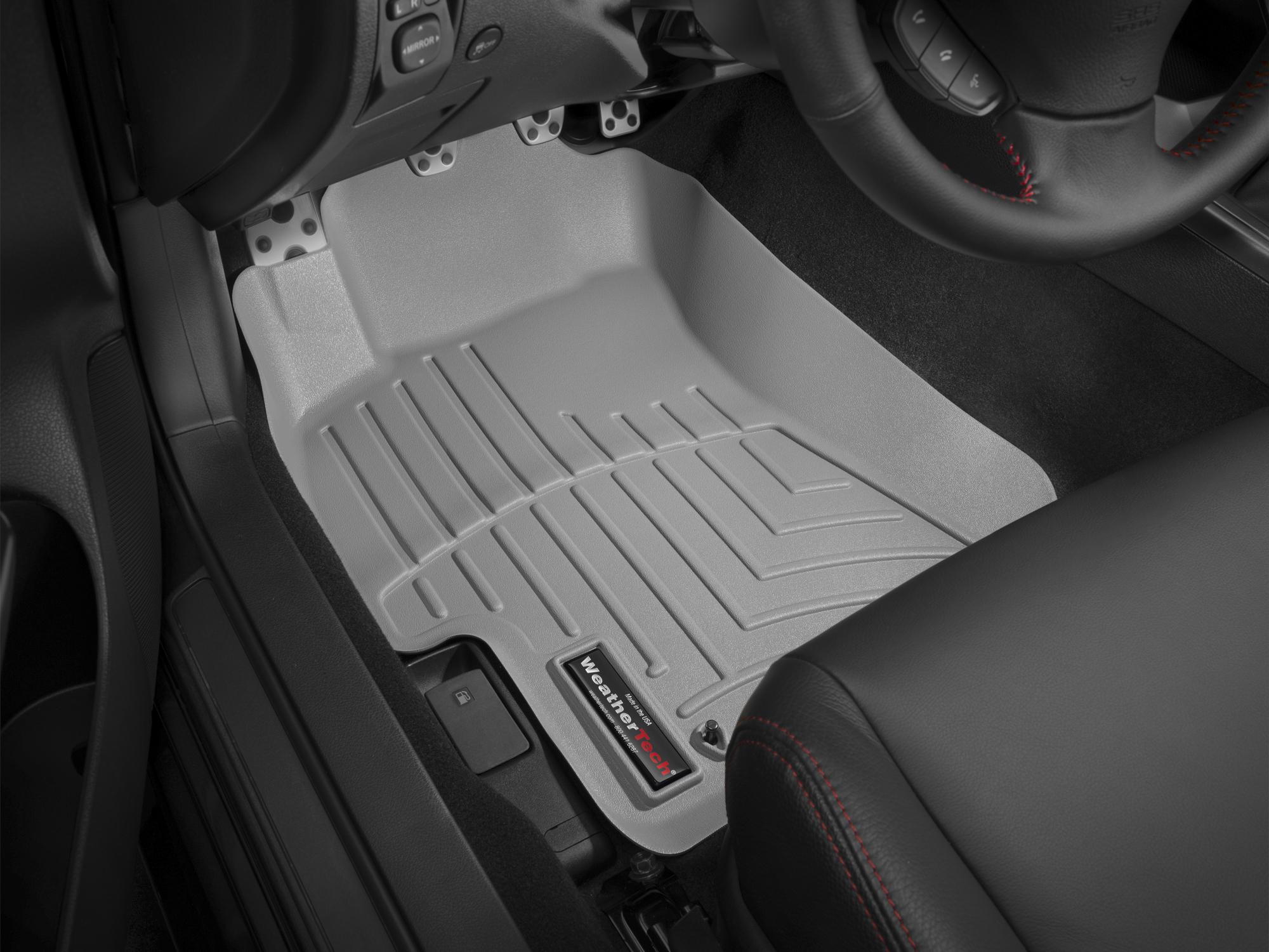 Tappeti gomma su misura bordo alto Subaru Impreza WRX STi 08>13 Grigio A3472