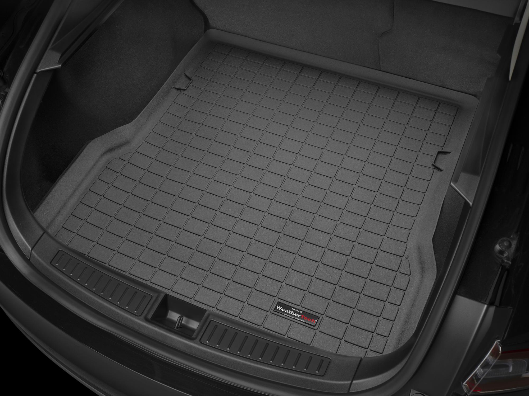 Tesla Model S 2012>2012 Vasca baule WeatherTech bagagliaio nero *1208*