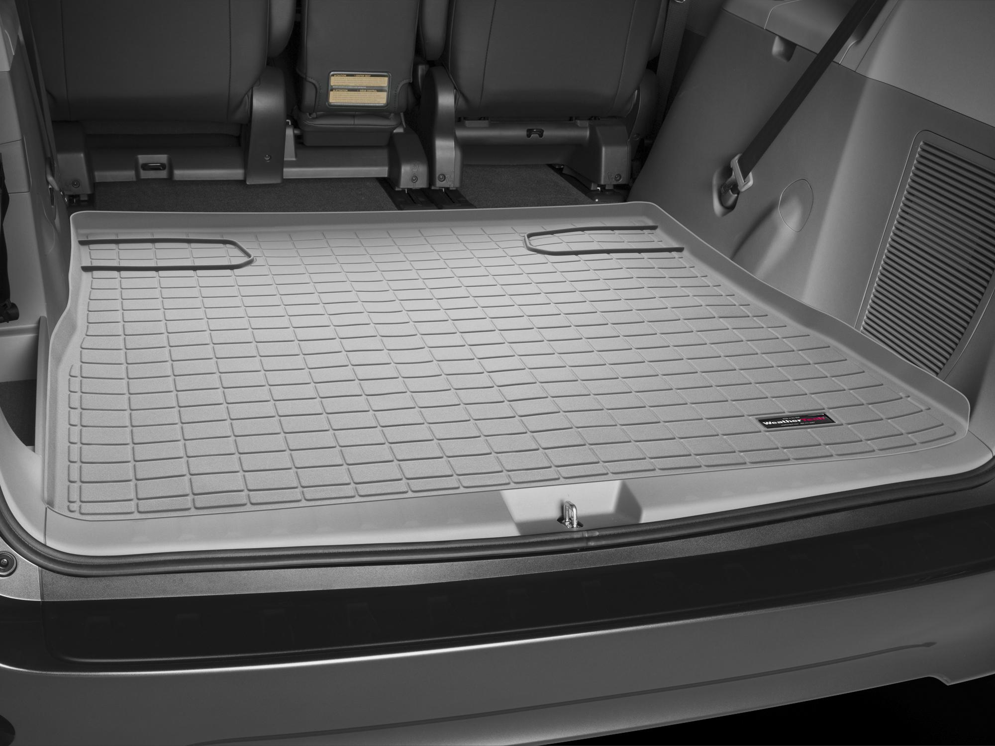 Toyota Sienna 2010>2017 Vasca baule tappeto bagagliaio grigio *1303